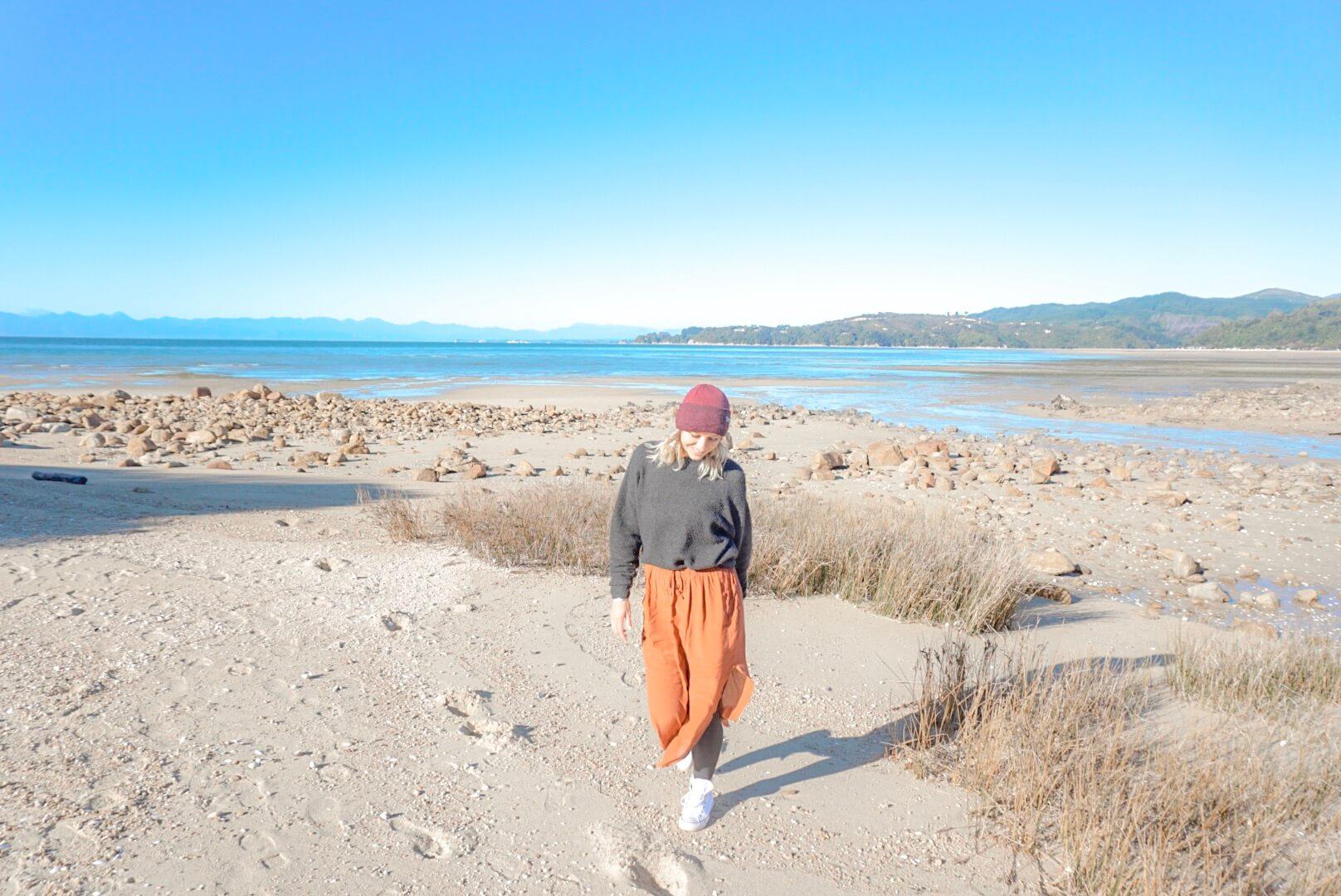 sentier randonnée parc Abel Tasman