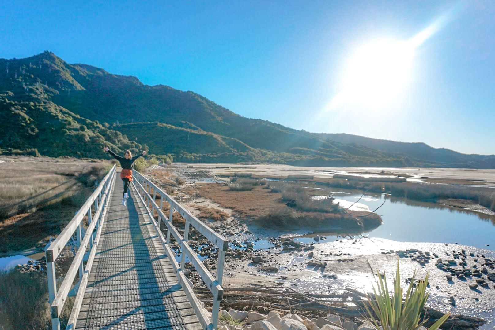 Randonnée sentier aménagé Abel Tasman