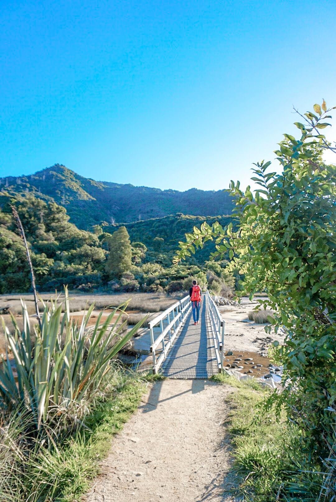Se promener dans le parc Abel Tasman