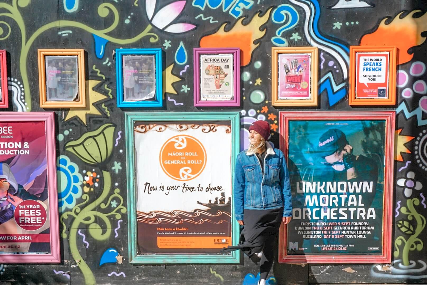Street art à Wellington blog voyage