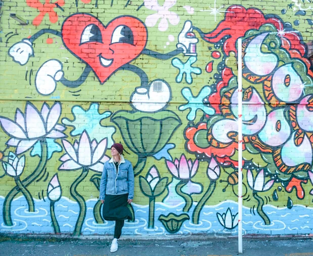 Wellington street art centre ville ou trouver