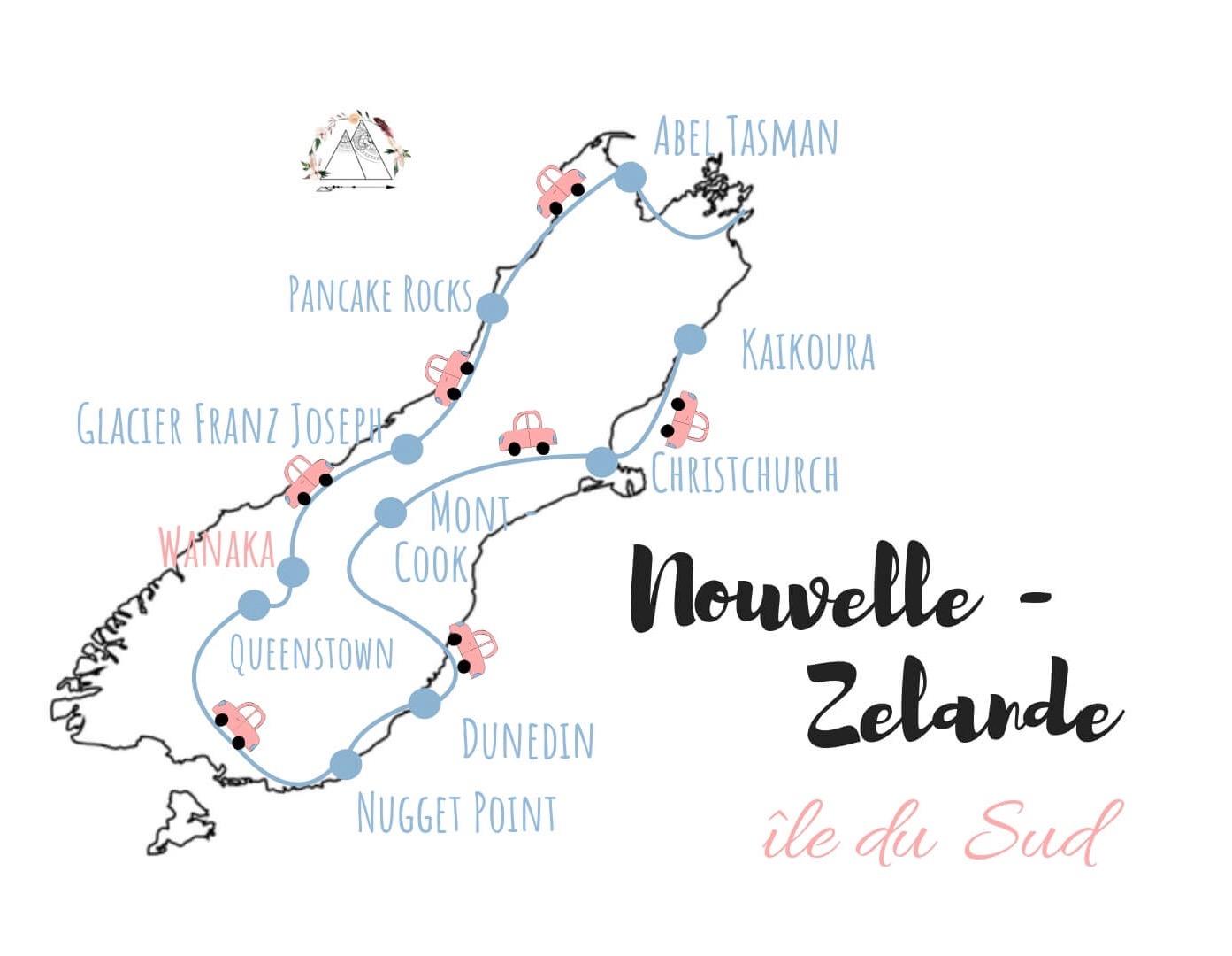 Visiter ile du sud nouvelle zelande road trip