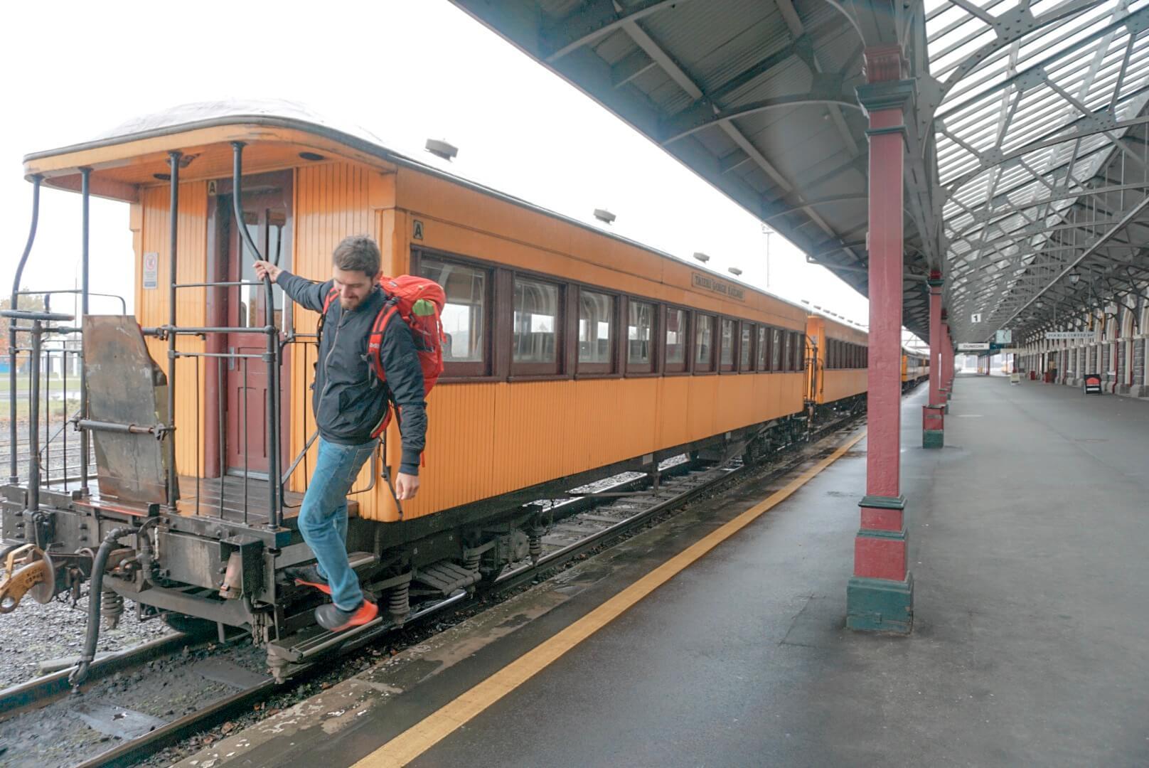 gare dunedin train blog