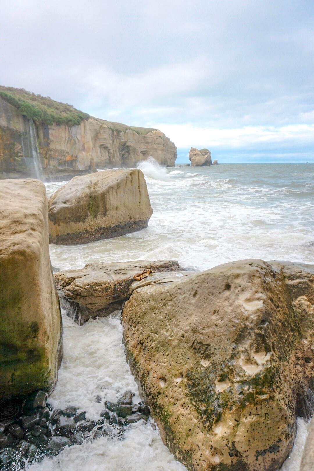 plage tunnel beach blog