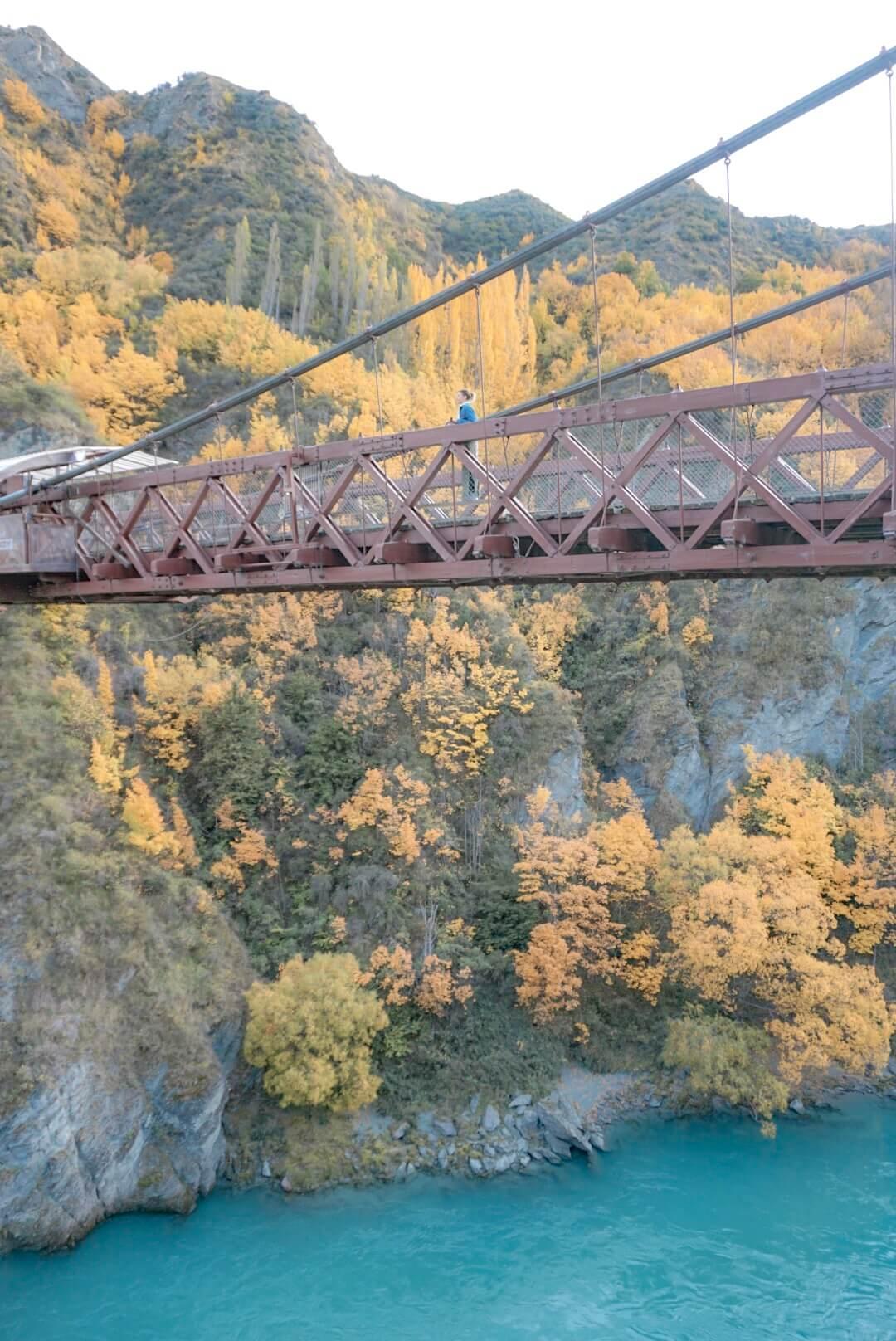 saut elastique pont queenstown nouvelle zelande