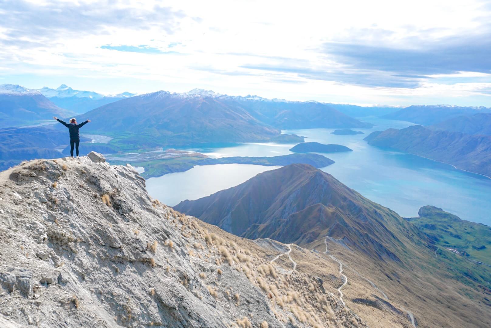 randonnée roys peak sommet sentier vue lac