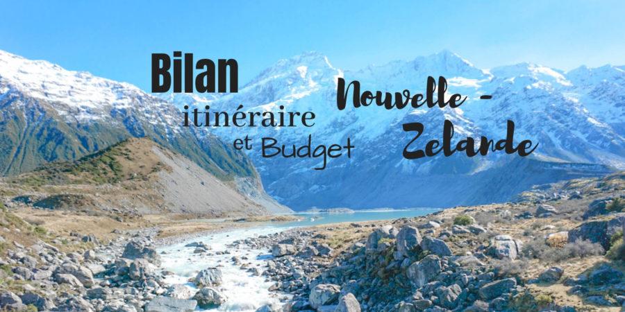 bilan itinéraire budget nouvelle zélande blog