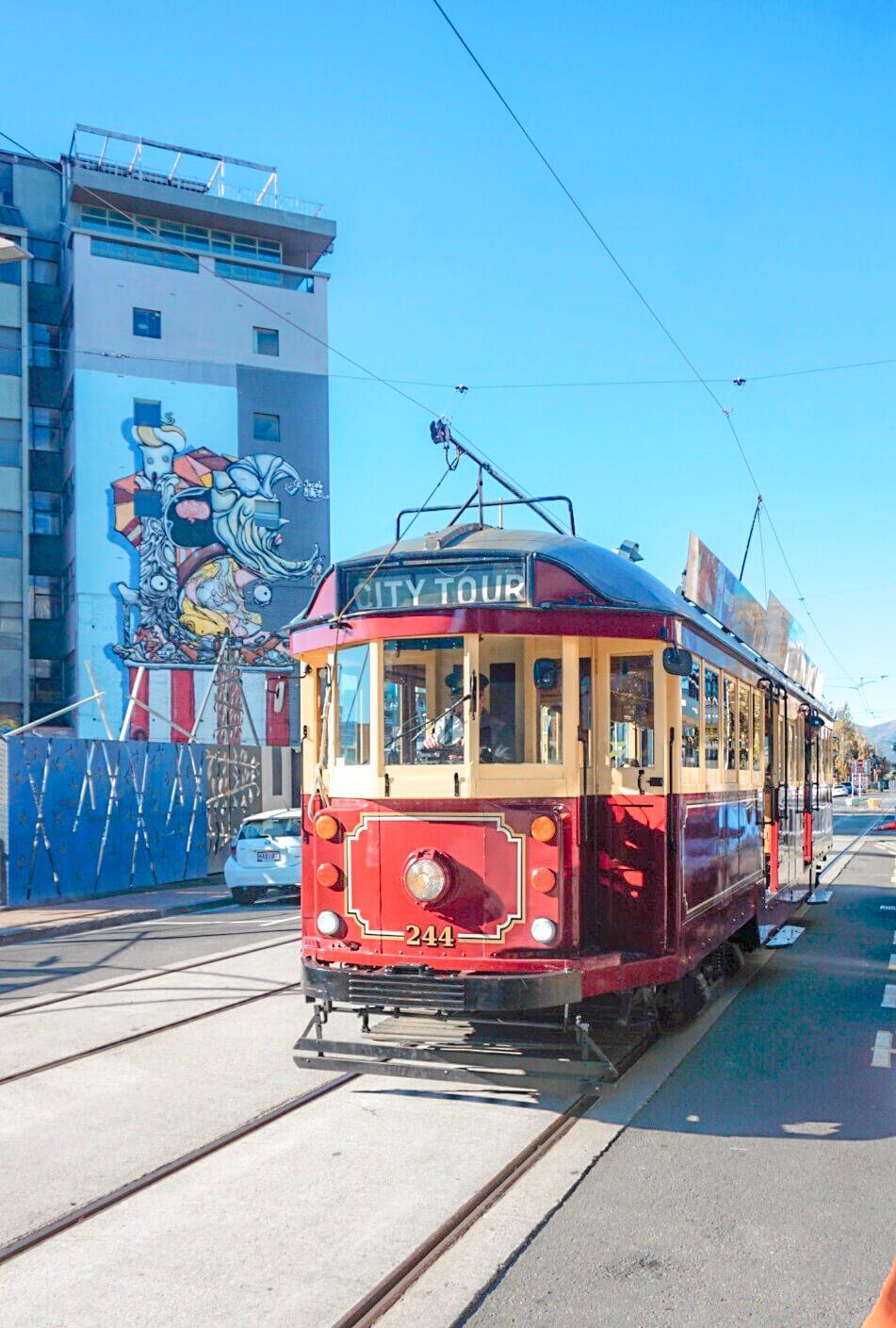 voir tramway christchurch