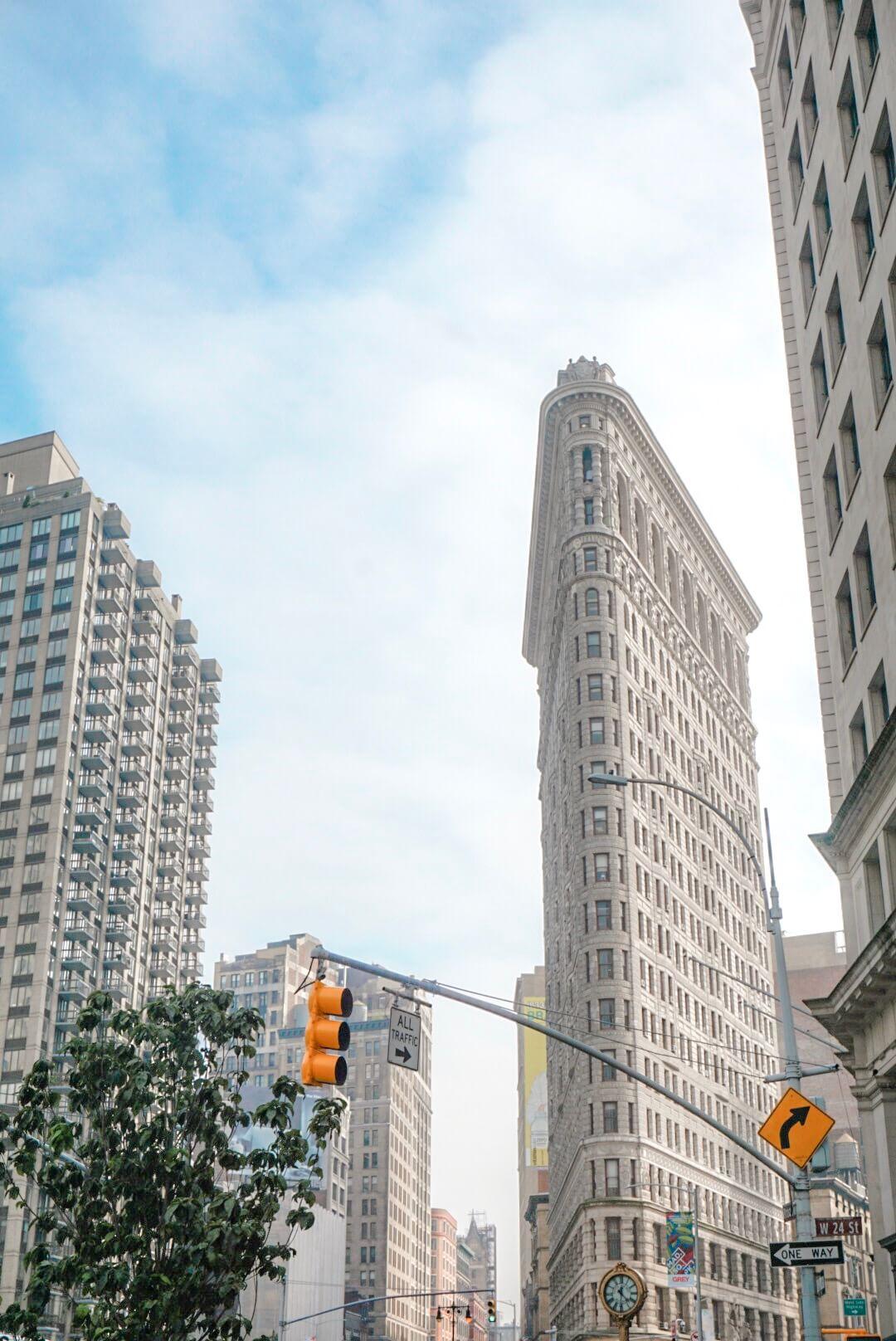 immeuble triangle new york flatiron
