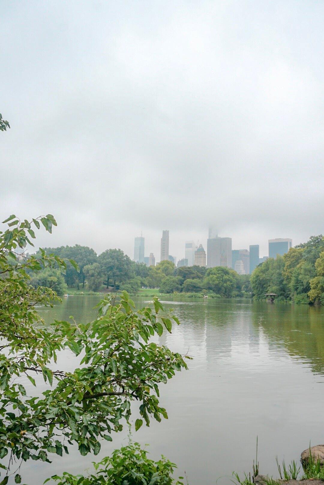central parc vélo lac