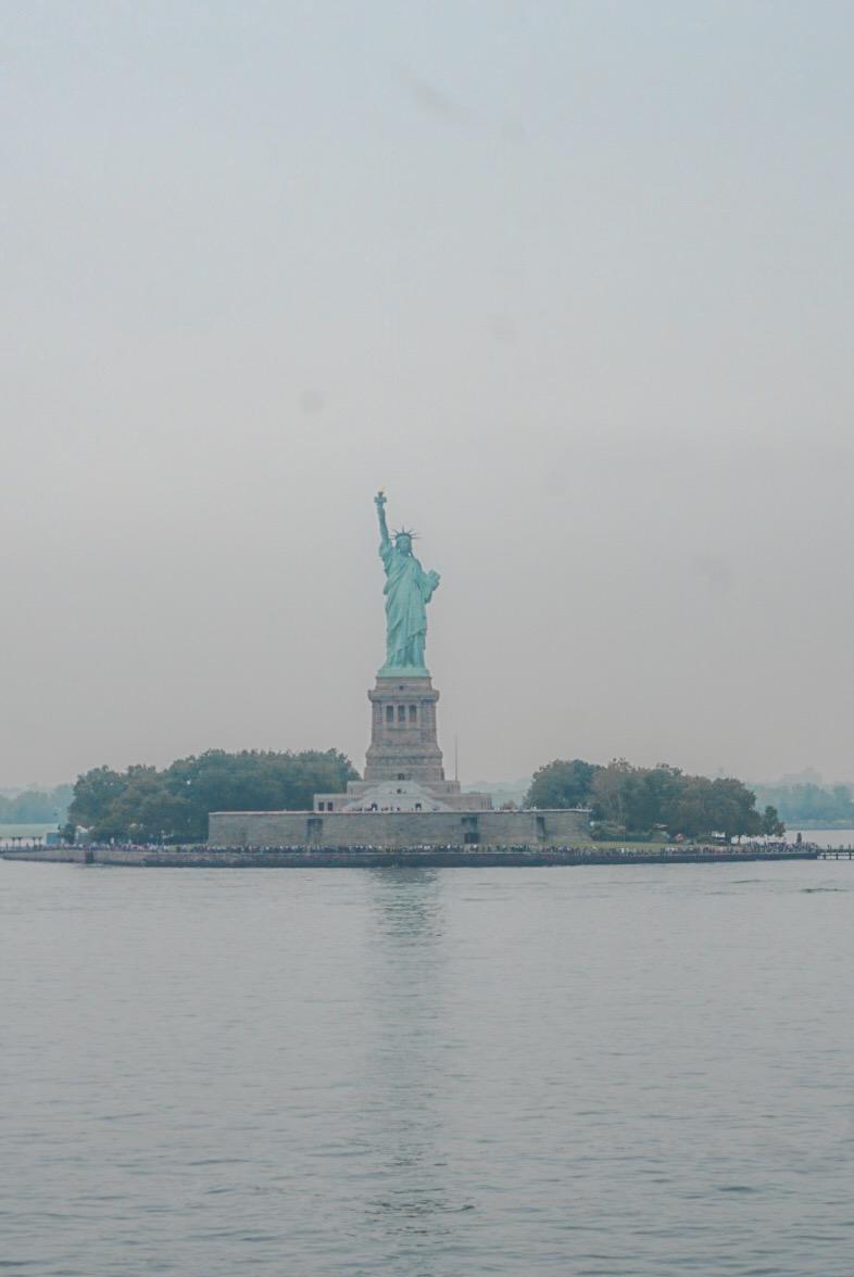 statue de la liberté en ferry gratuit
