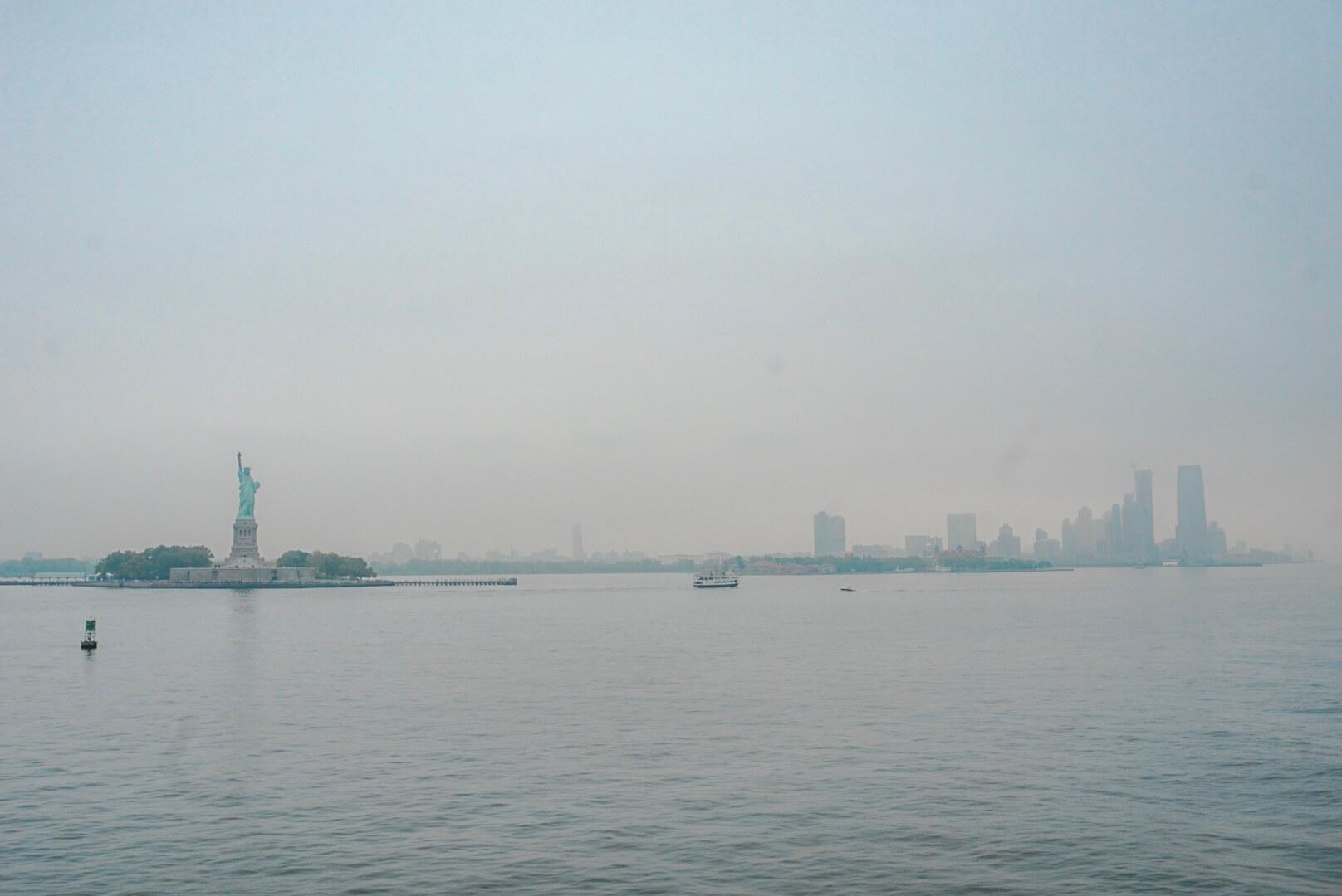 voir la statue de la liberté gratuitement de près
