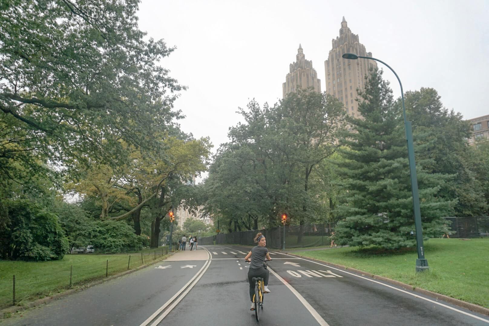 faire du vélo dans centrak parc