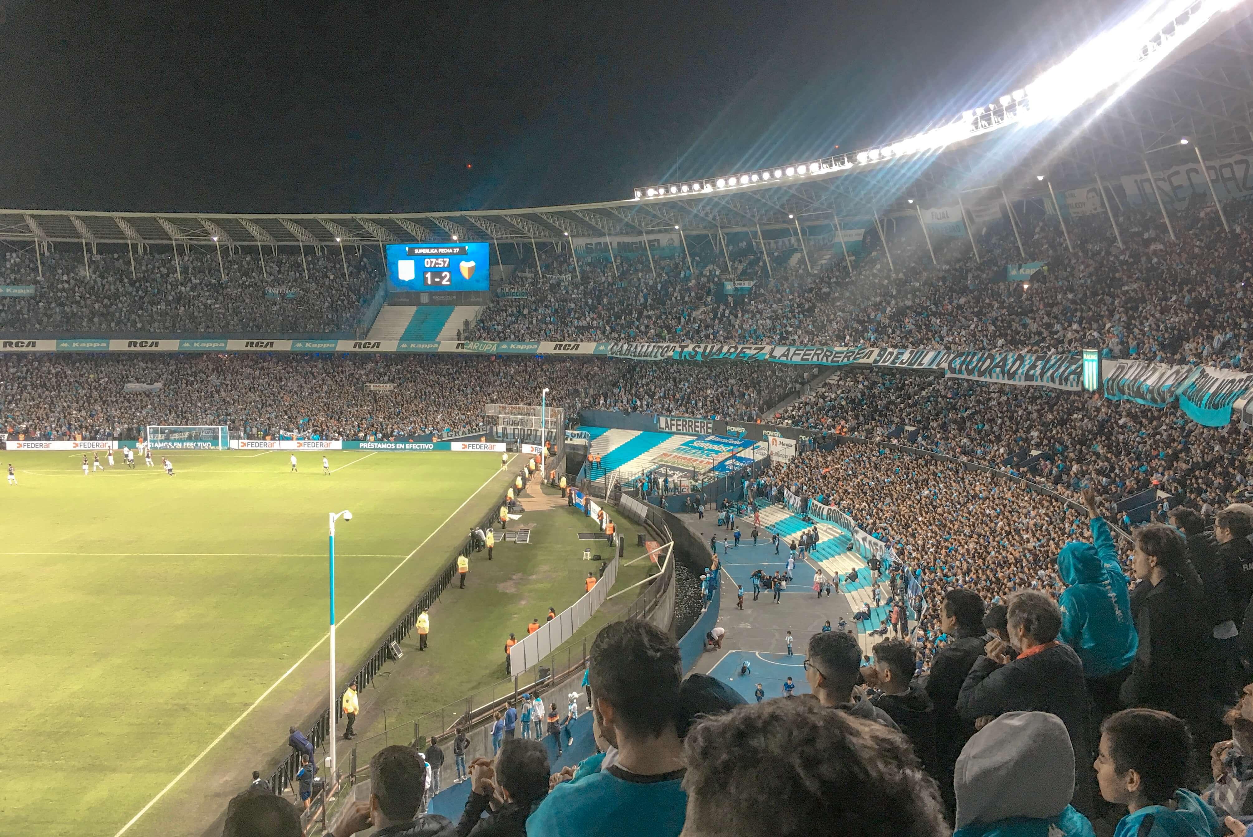 comment voir un match de foot argentine buenos aires