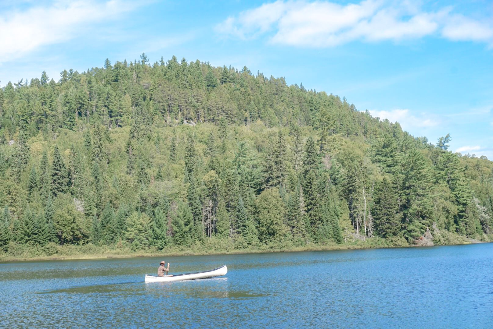 faire du canoe parc mauricie chute weber location