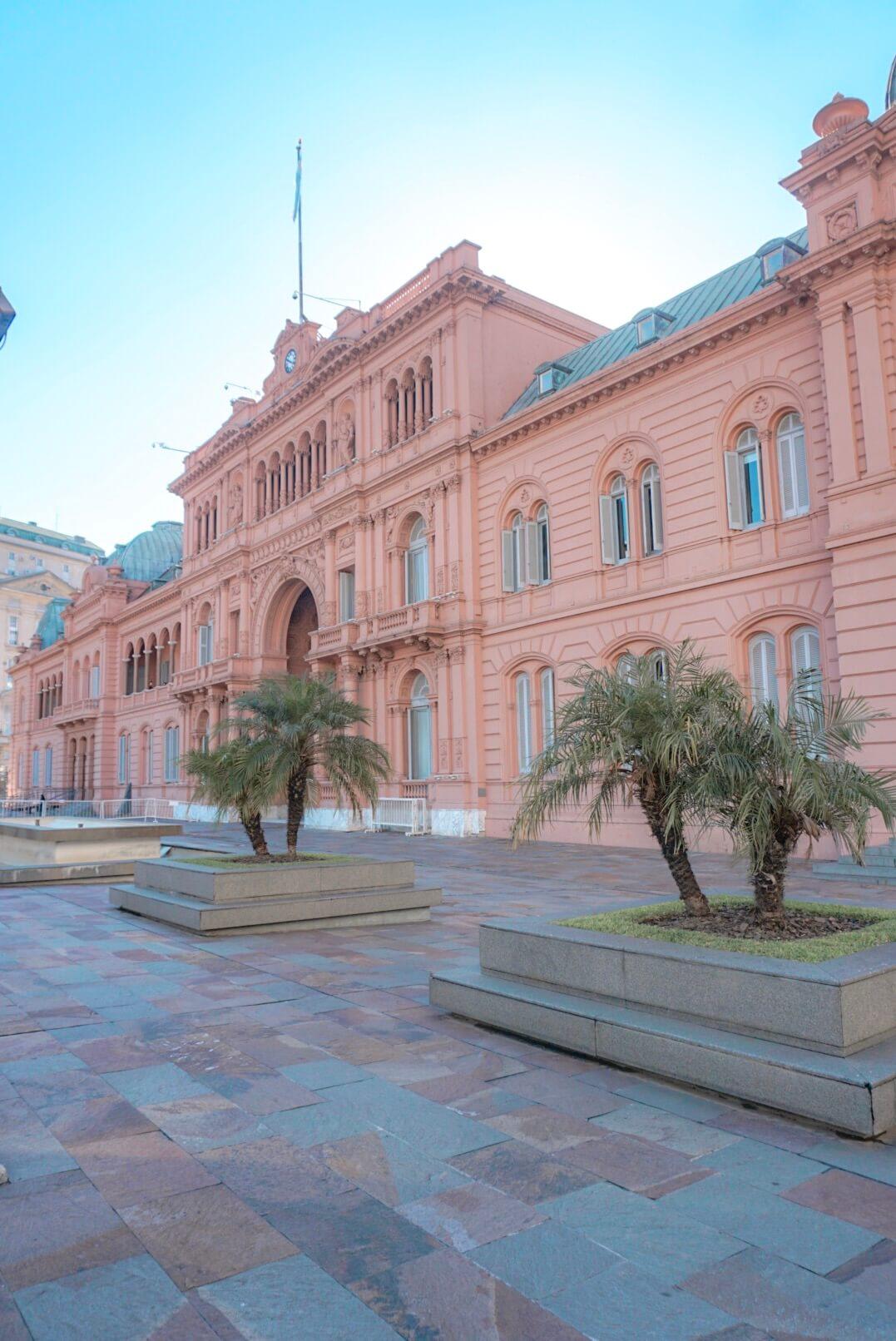 casa rosada buenos aires argentine