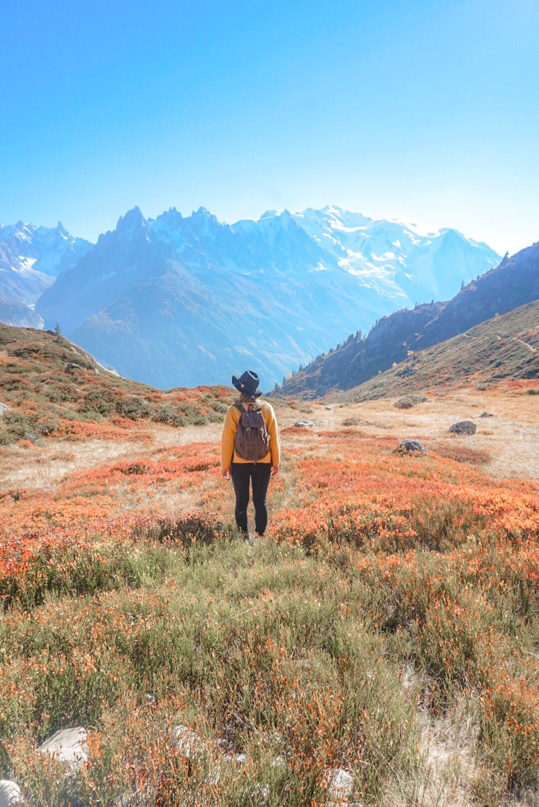les plus belles randonnées à chamonix mont blanc