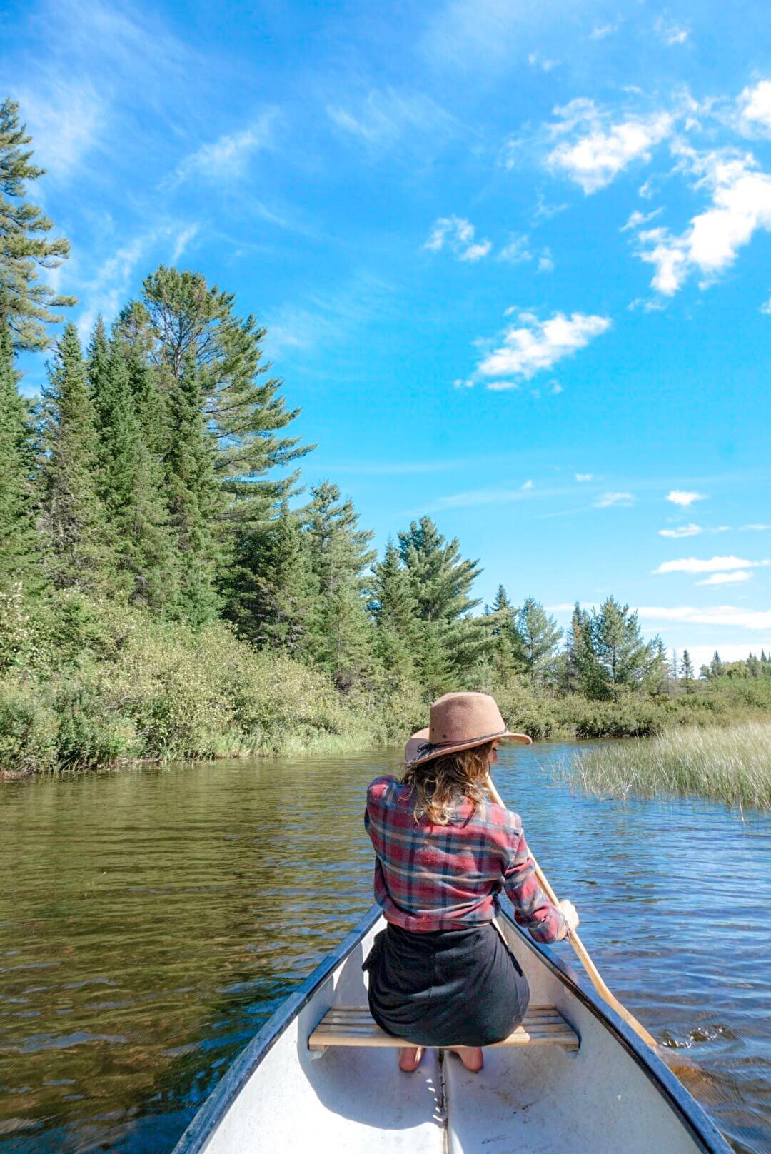 faire du canoe parc mauricie quebec