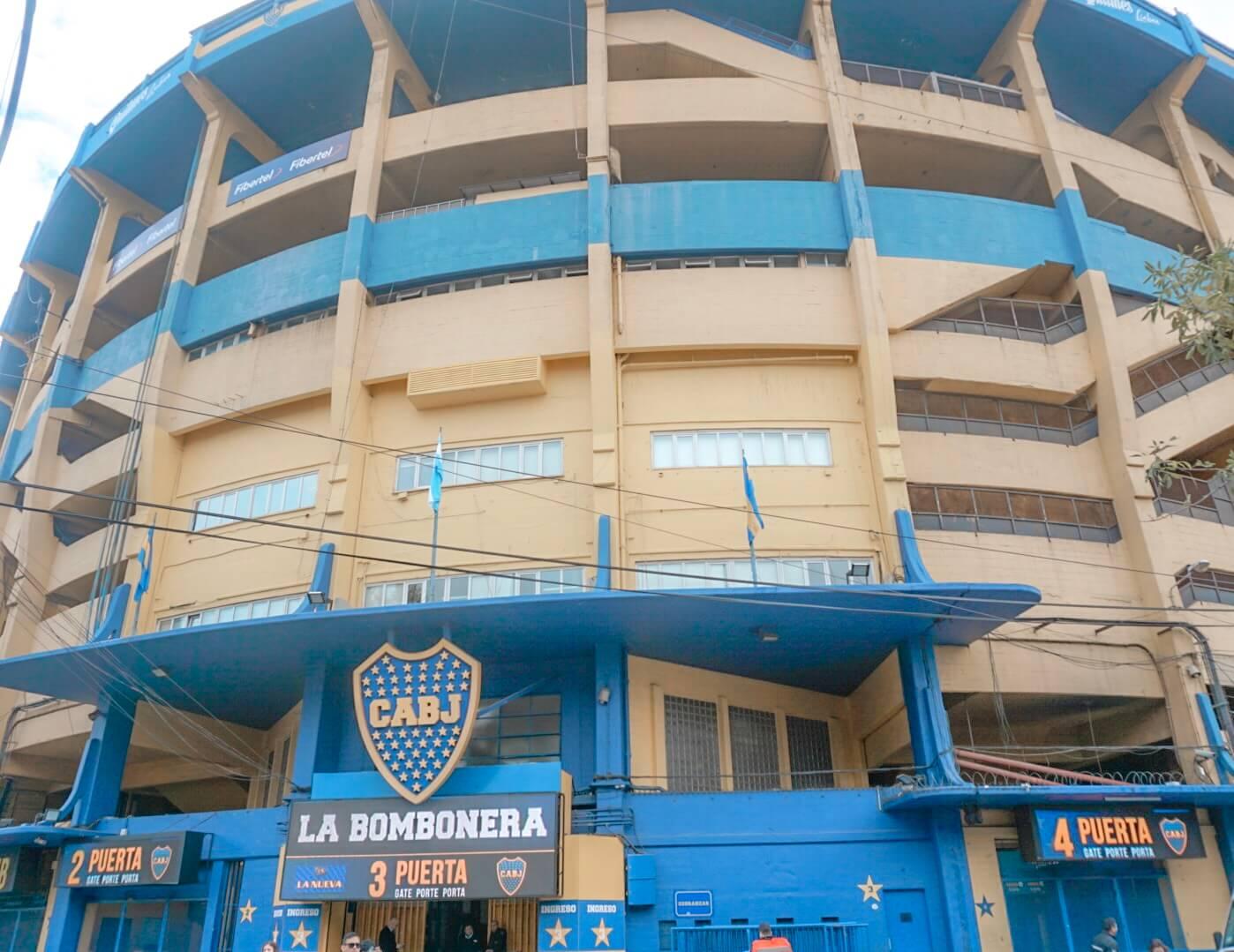 comment visiter la bombonera stade boca junior