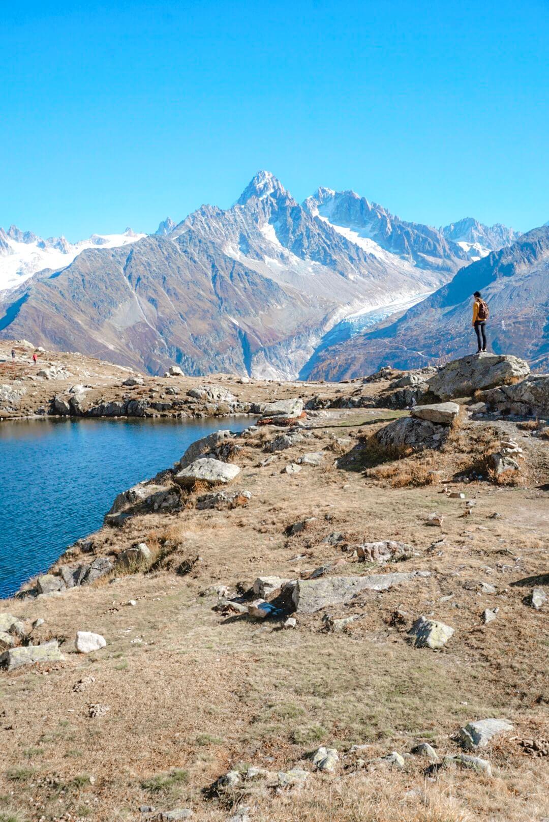 lac cheserys itinéraire lac blanc chamonix
