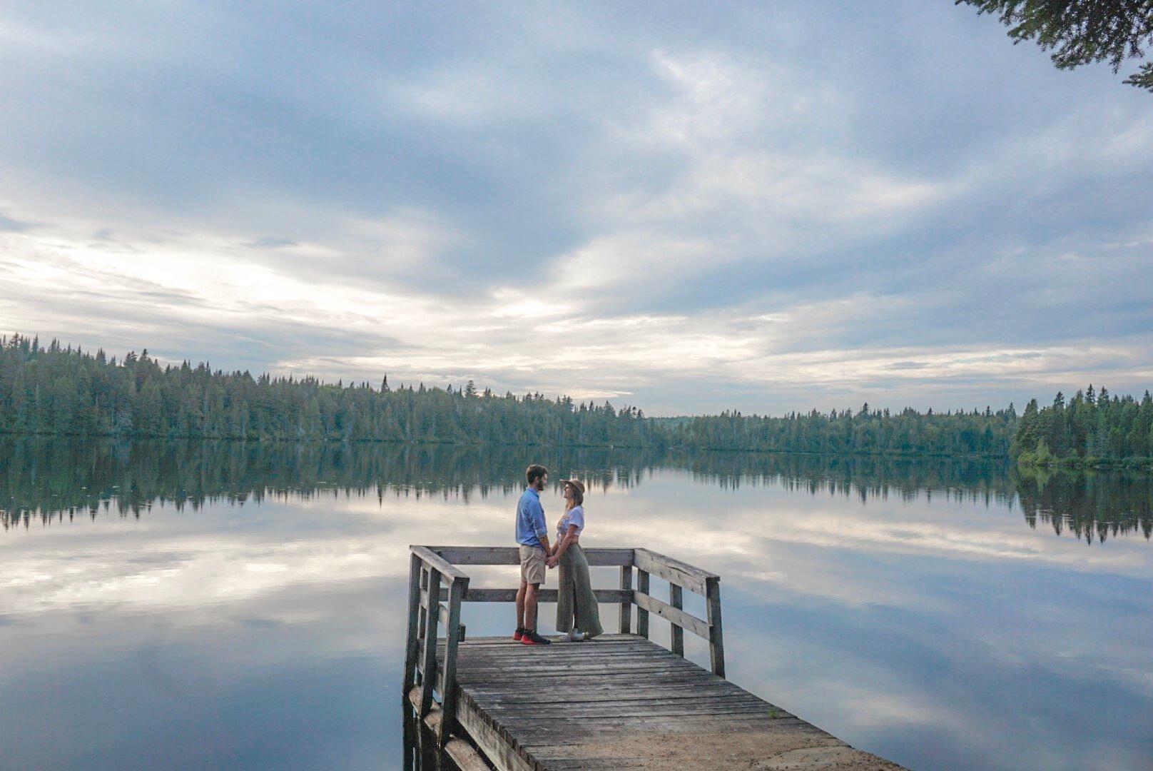visiter parc du mont tremblant canada quebec van