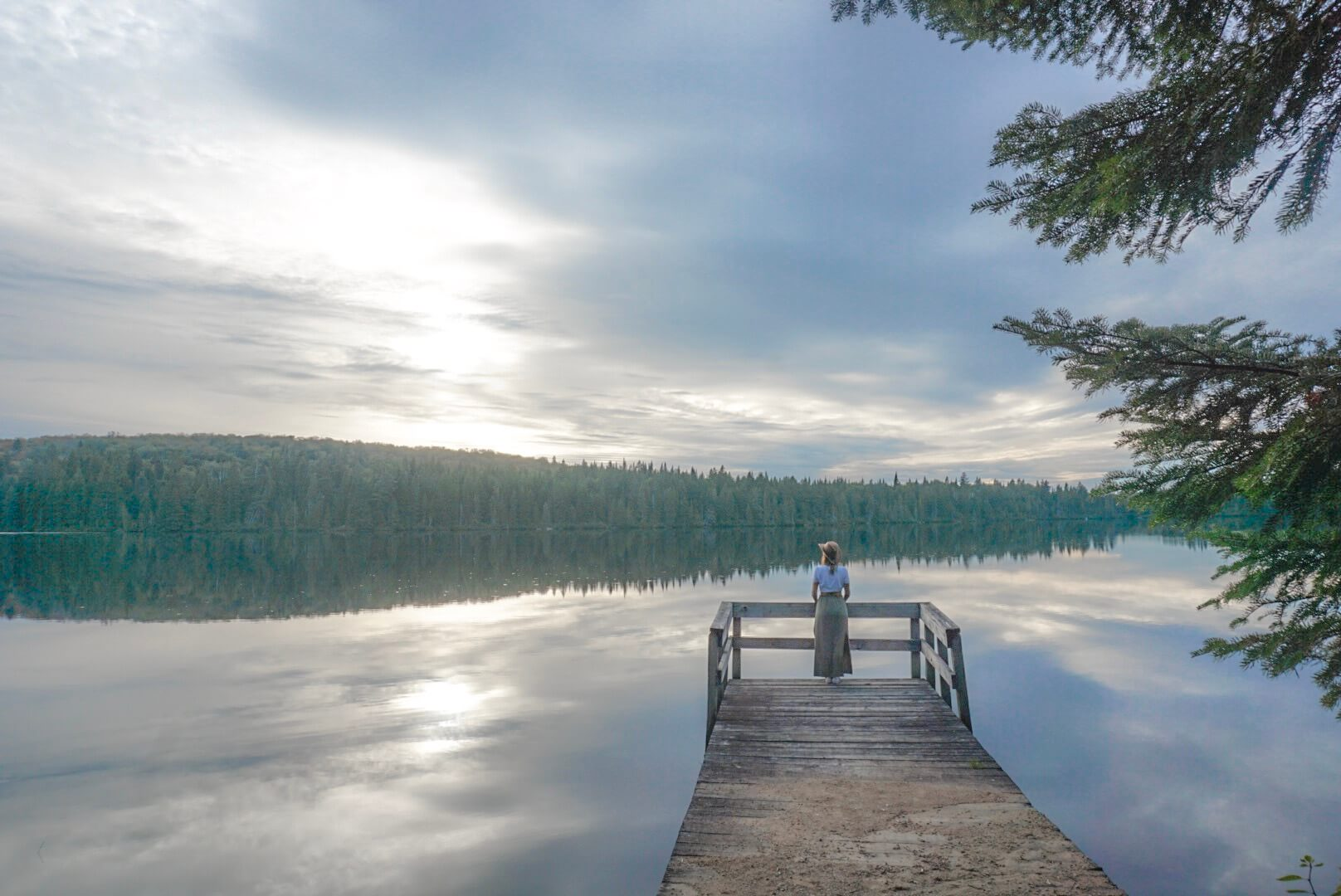 lac à visiter parc quebec mont tremblant