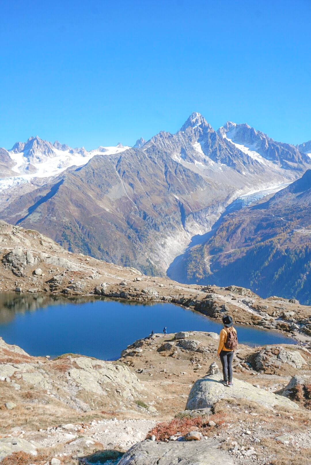 itinéraire randonnée lac cheserys