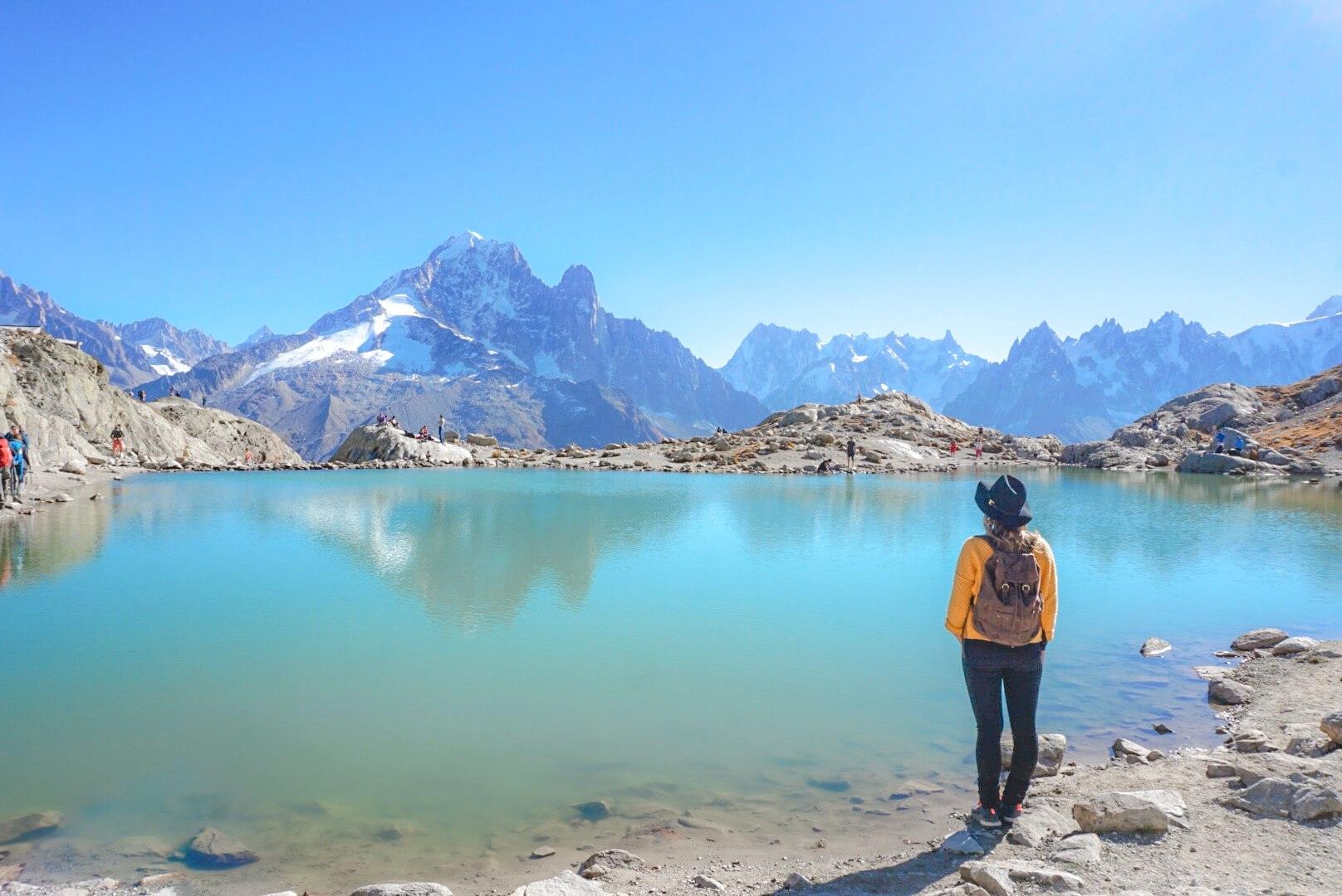 lacs cheserys lac blanc randonnée chamonix