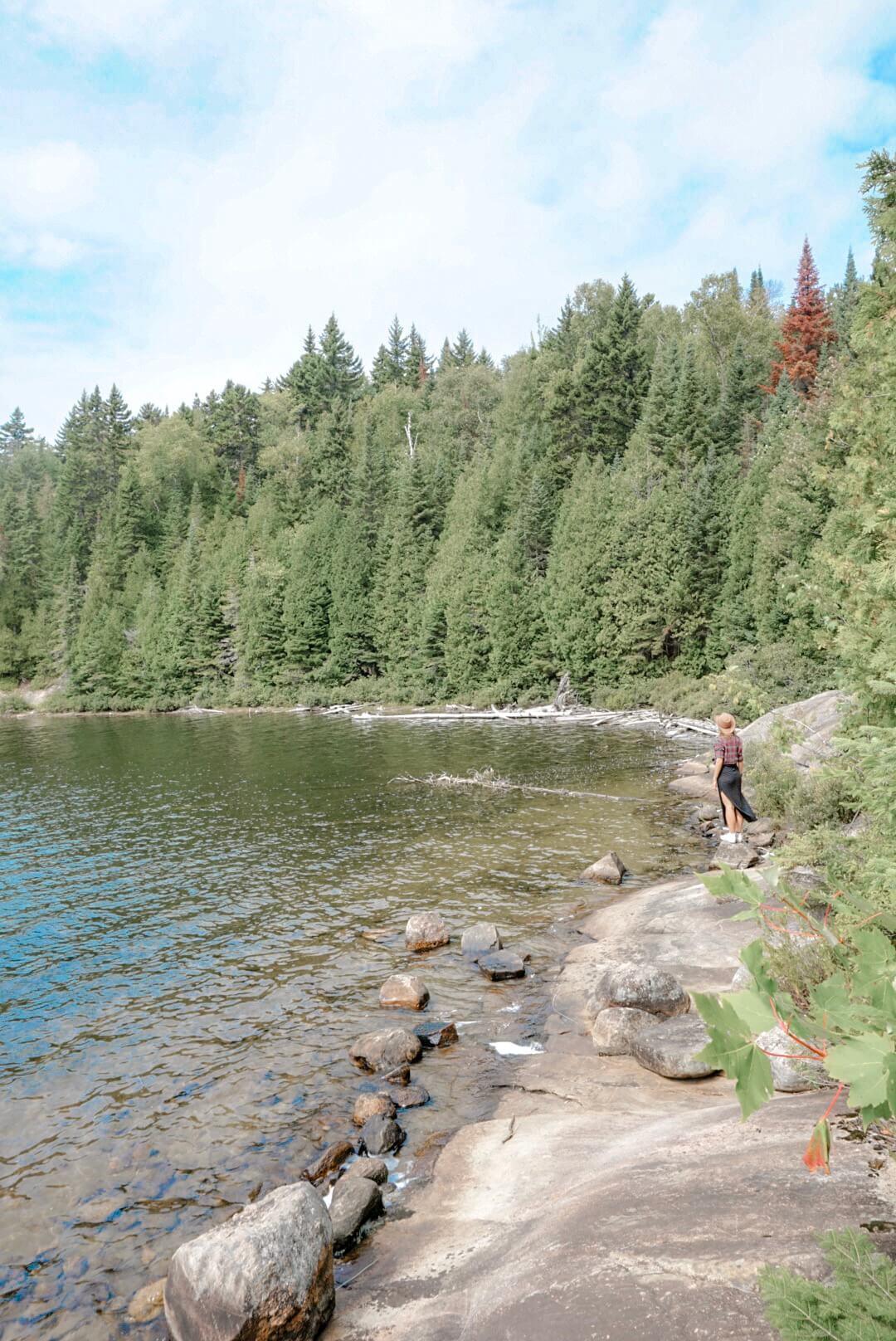lac caribou mauricie
