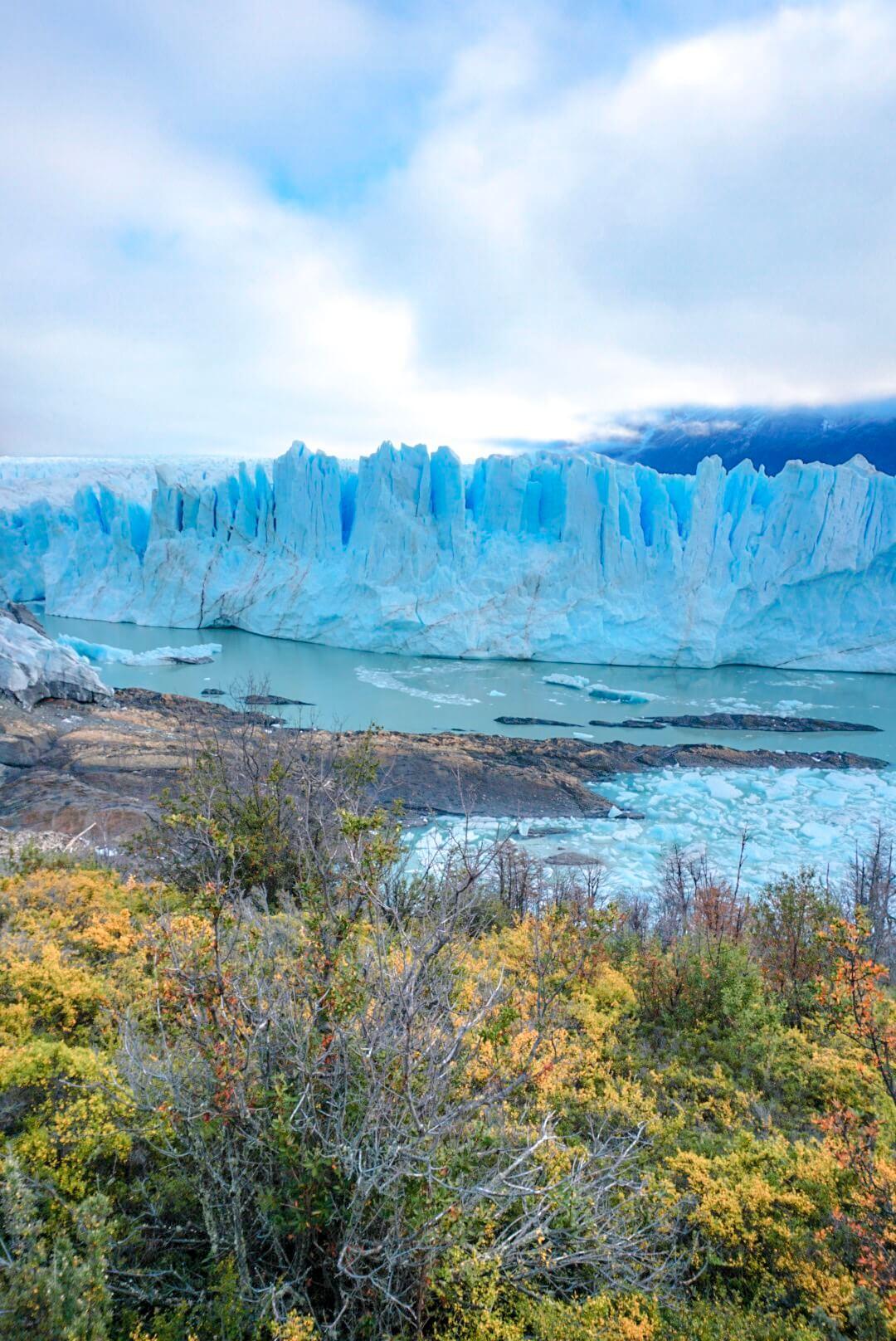 périto moreno glacier argentine patagonie depuis el calafate