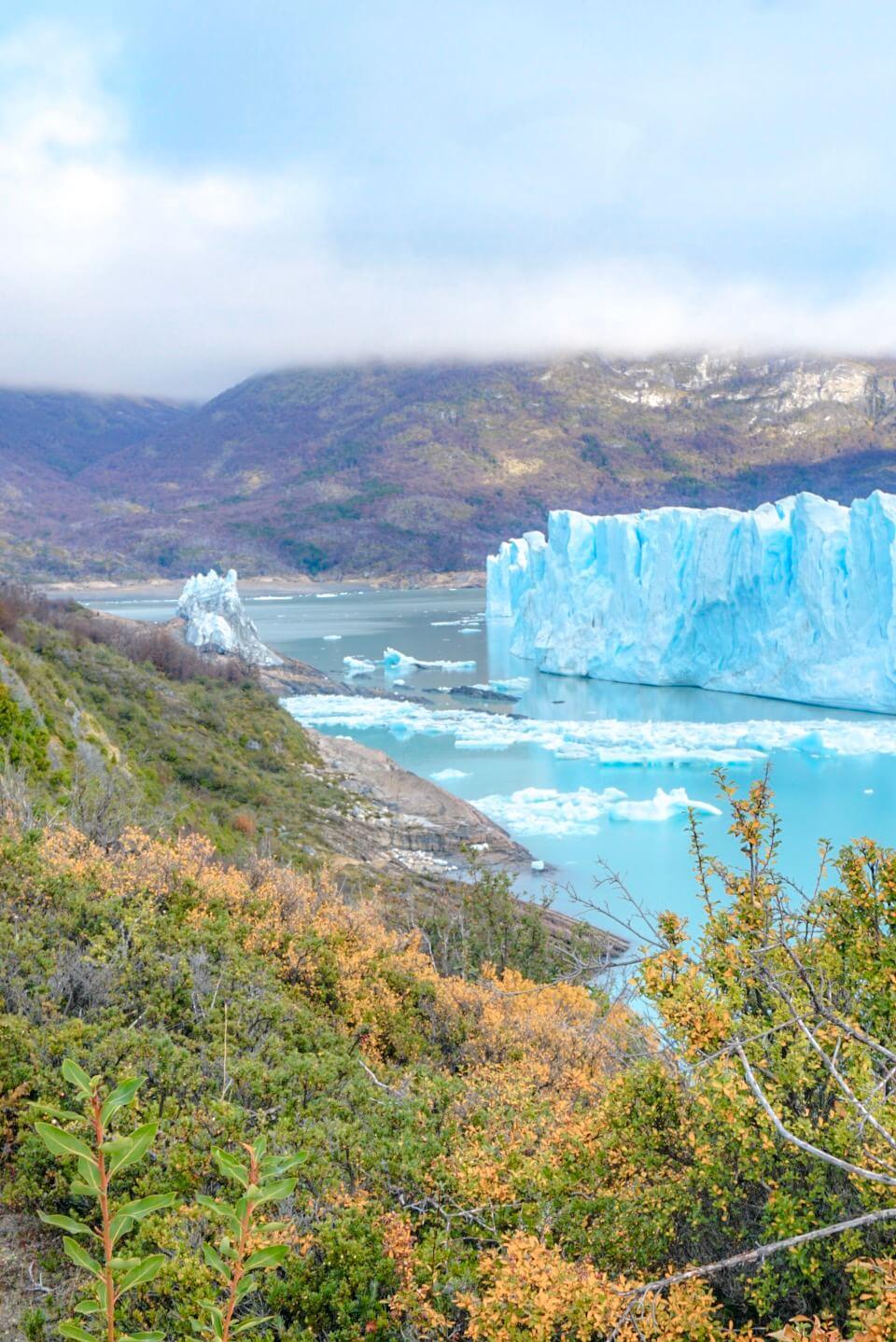 parc du périto moreno randonnée glacier itinéraire