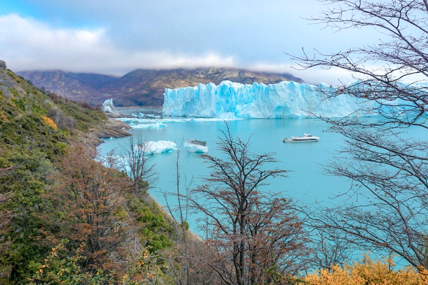 excursion bateau perito moreno glacier argentine