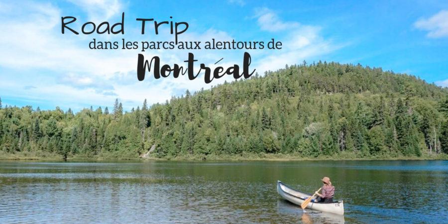 road trip dans les parcs nationaux montreal