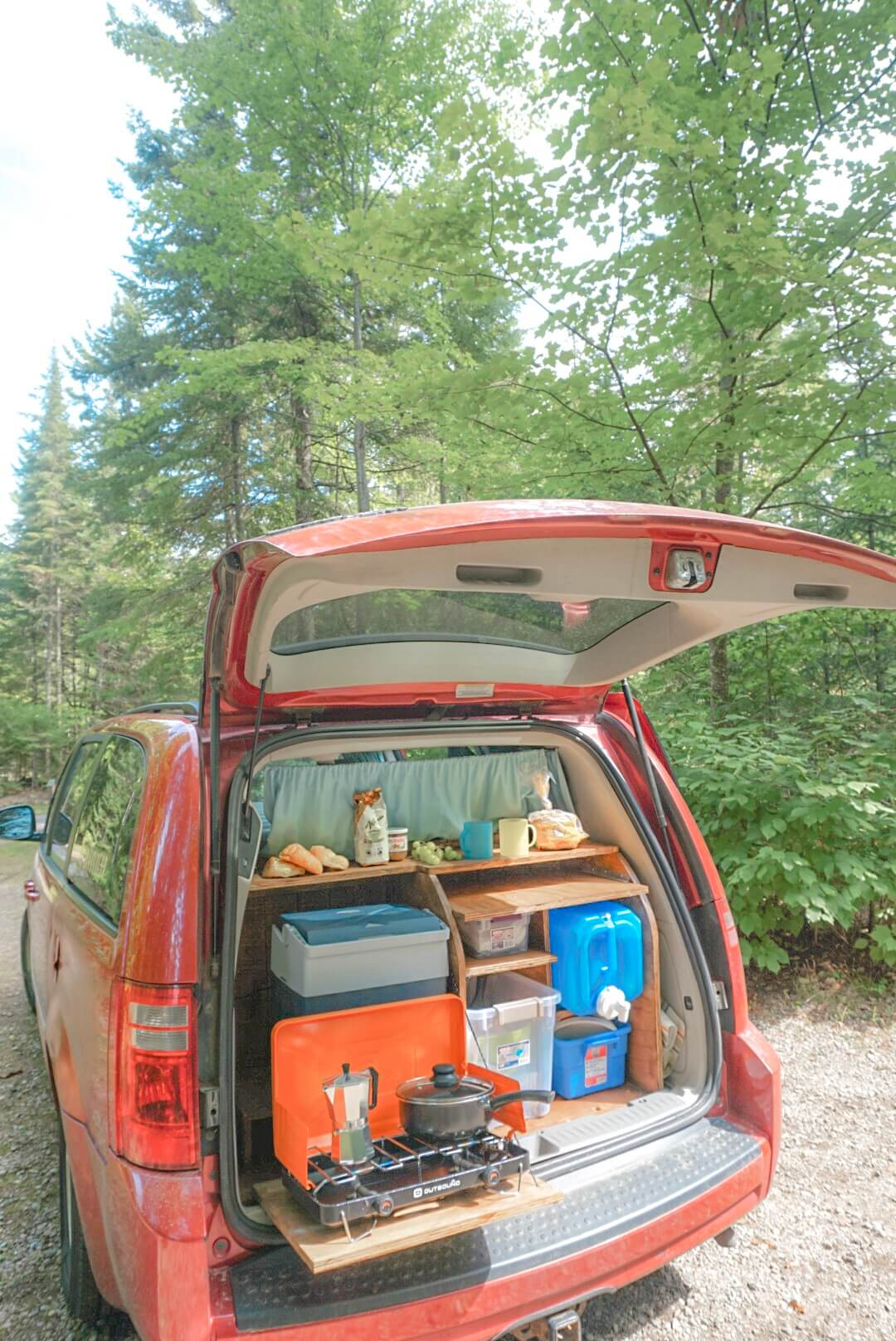 road trip en van quebec montreal
