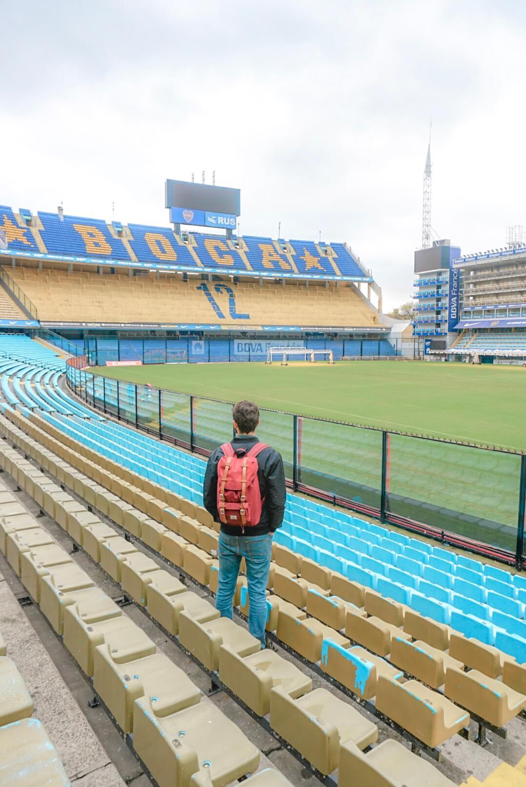 stade boca junior visiter tribunes prix avis