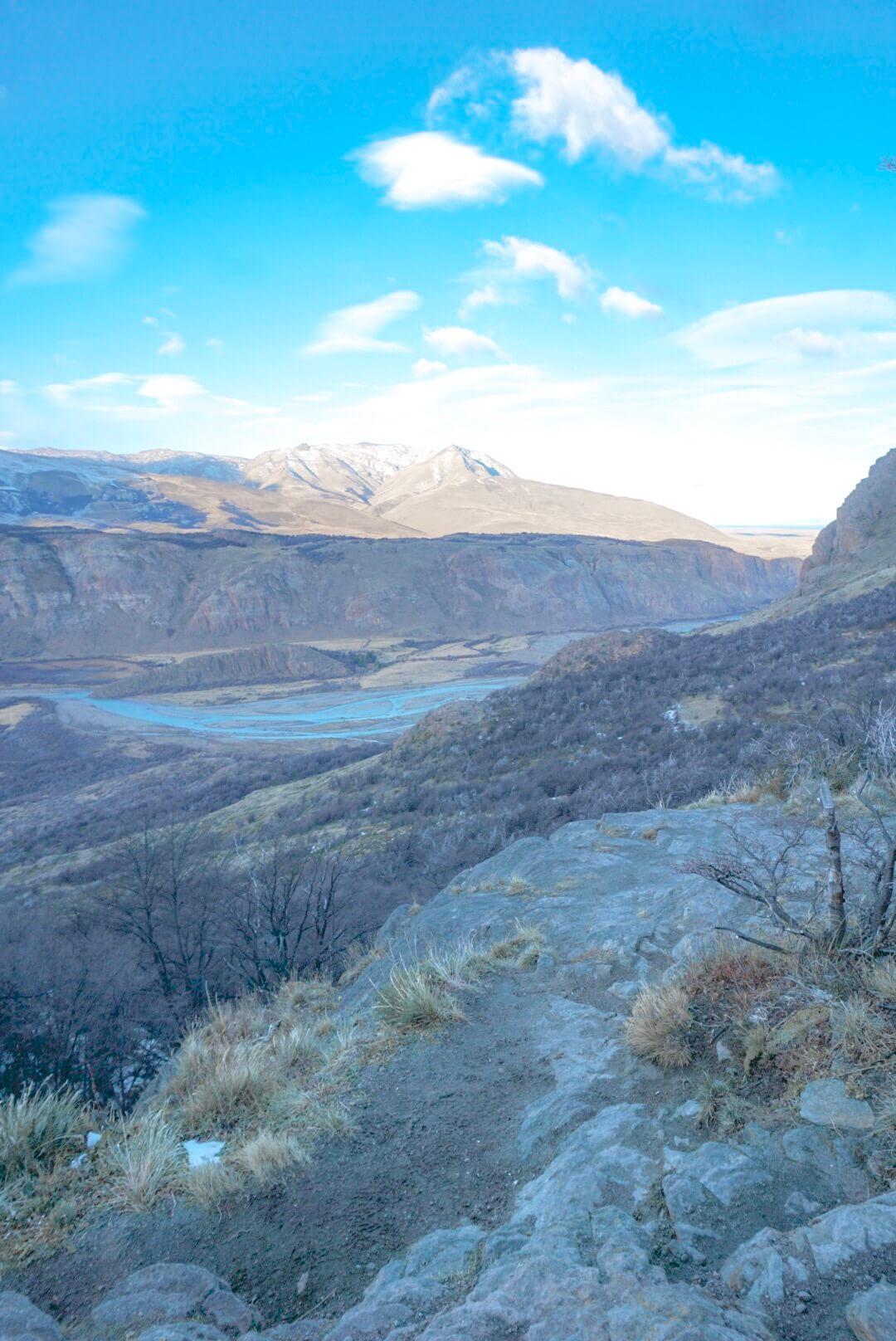 Fitz roy randonnée patagonie