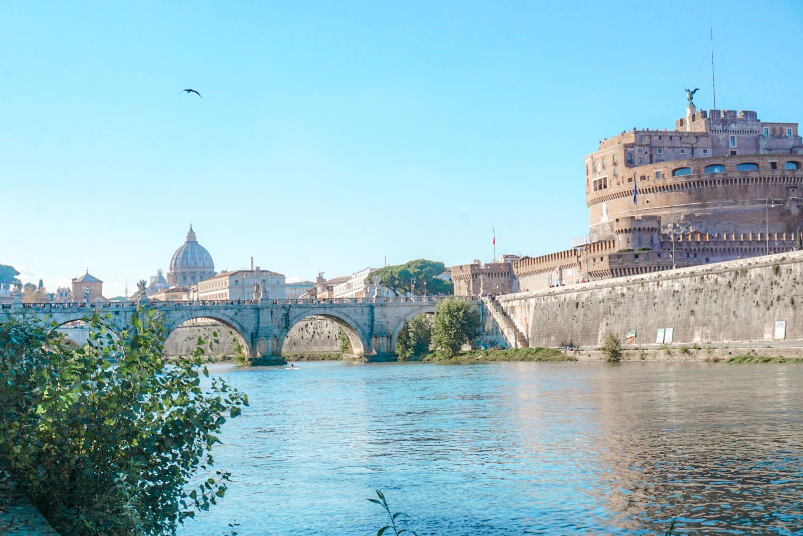 visiter chateau saint ange rome blog voyage