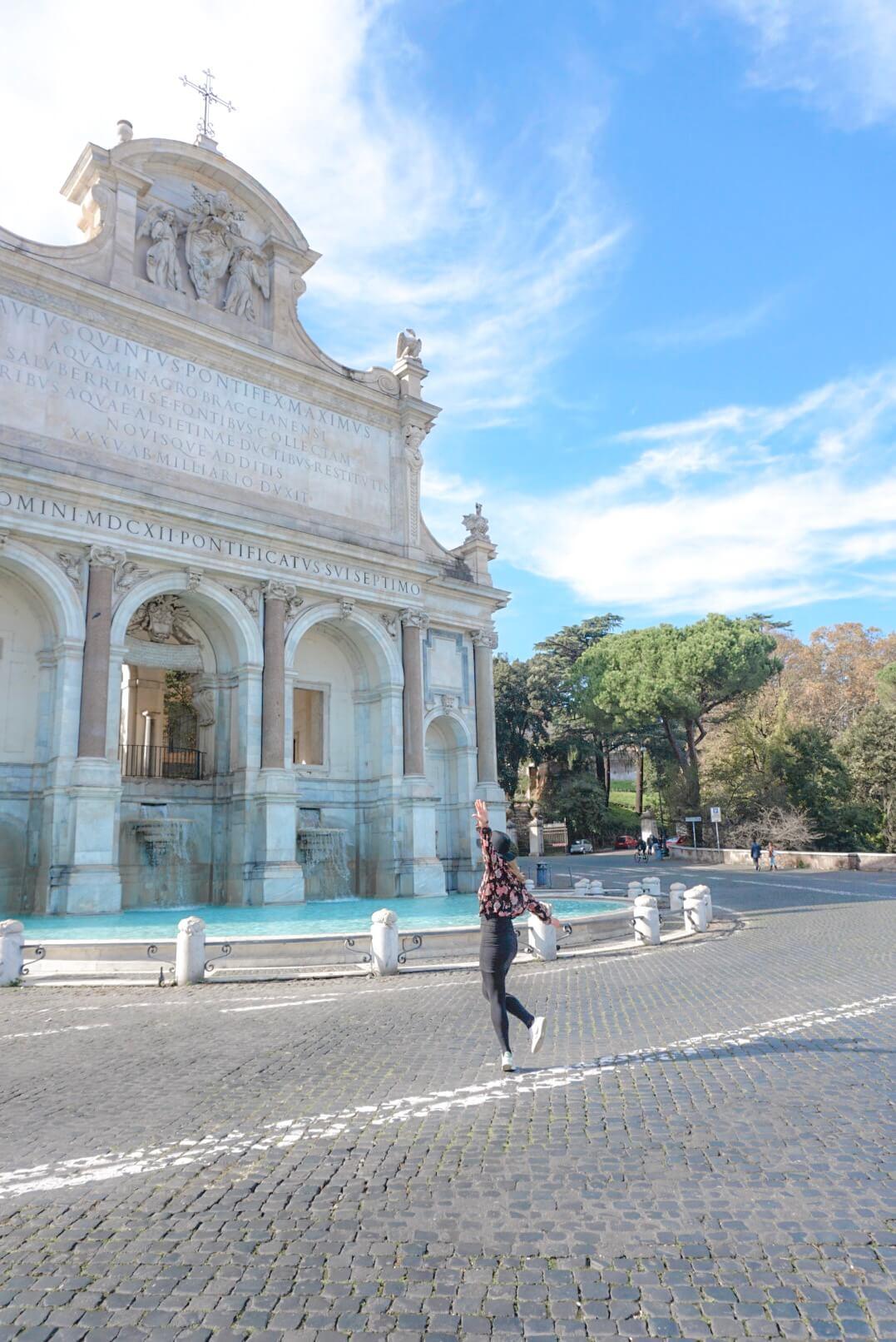 fontaine de rome blog voyage italie