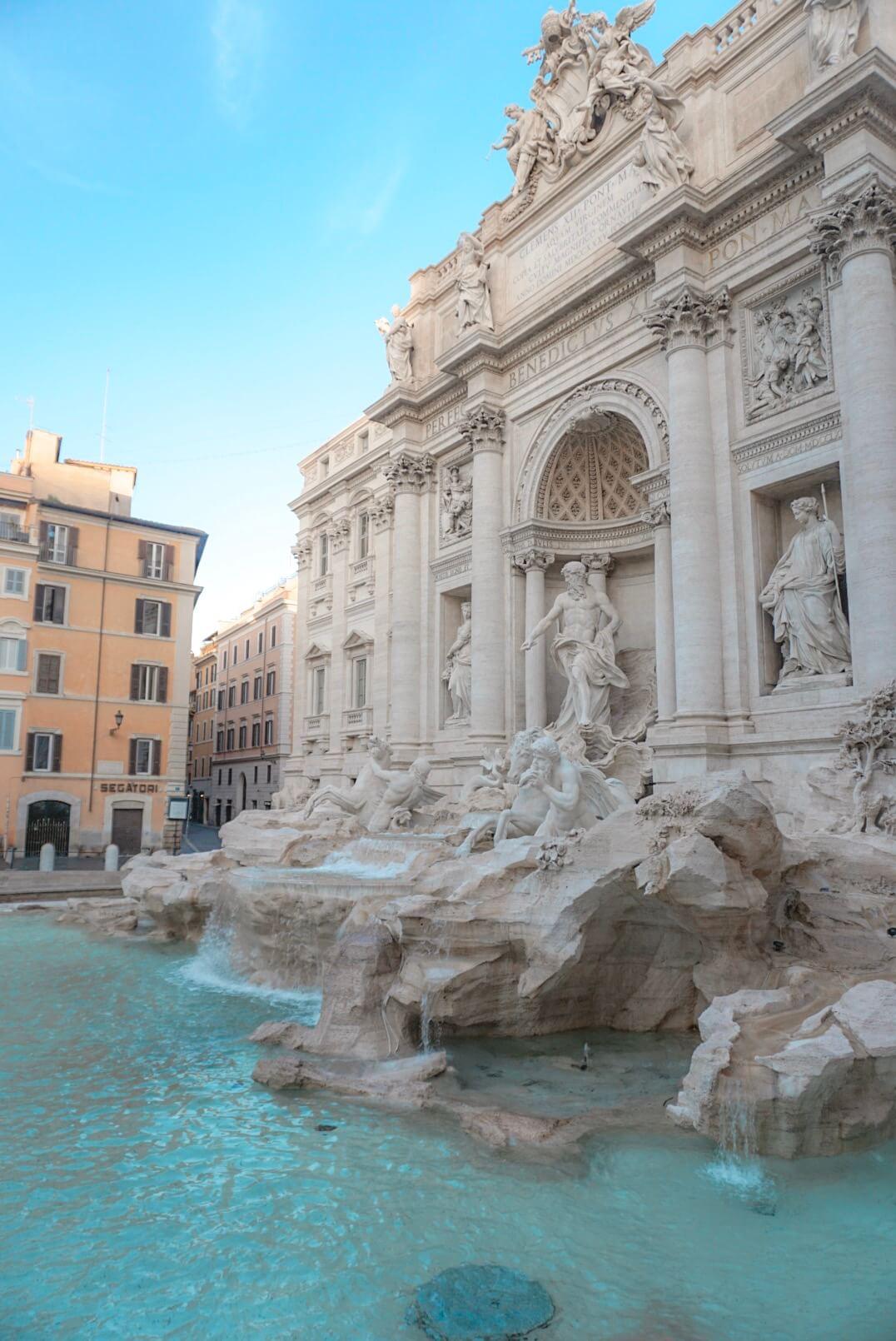 Fontaine de trevi blog voyage rome