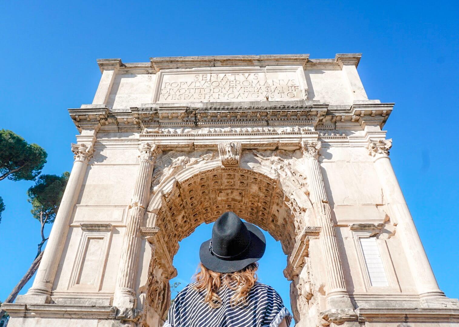 visiter forum et palatin rome conseils