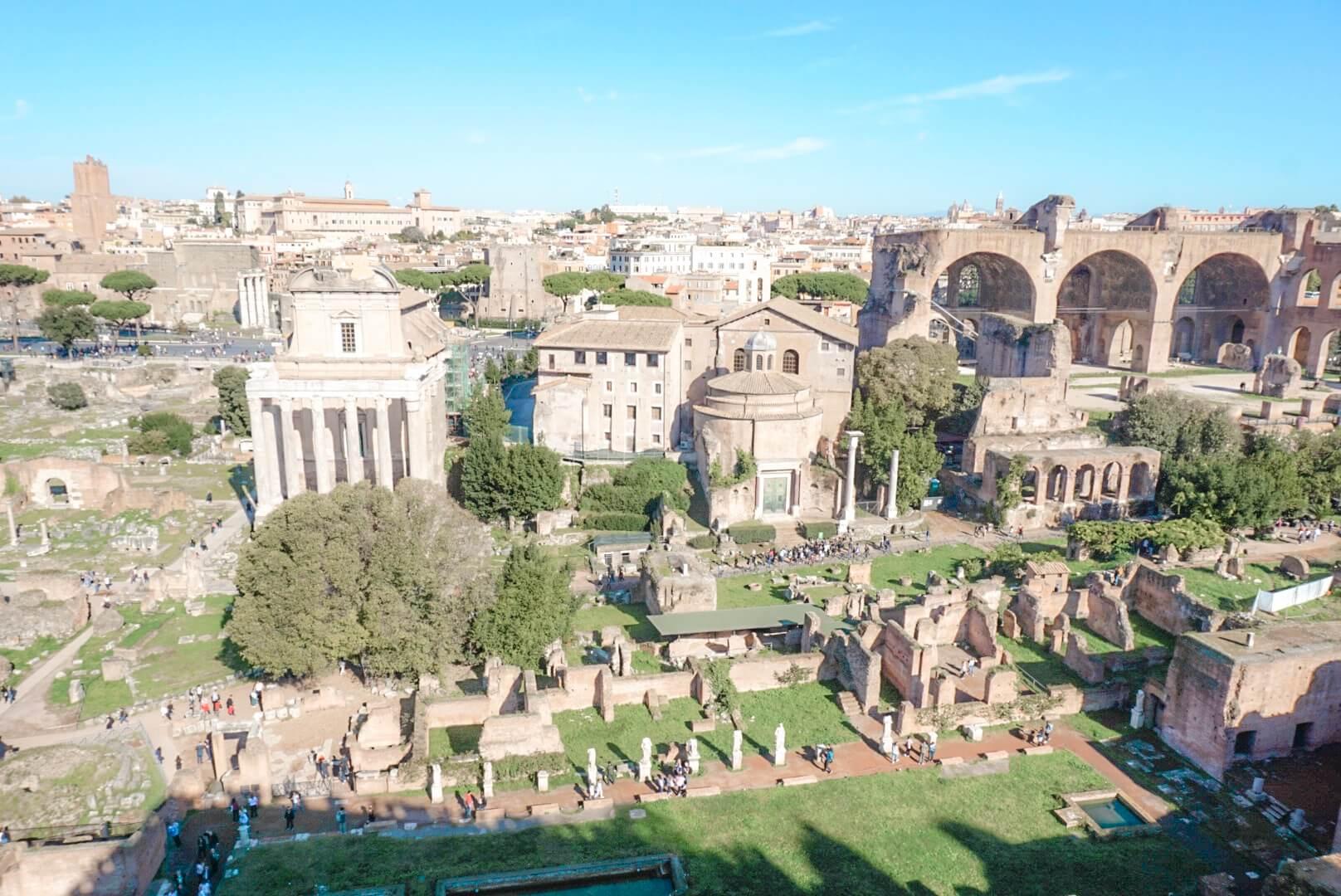 comment visiter forum et palatin rome