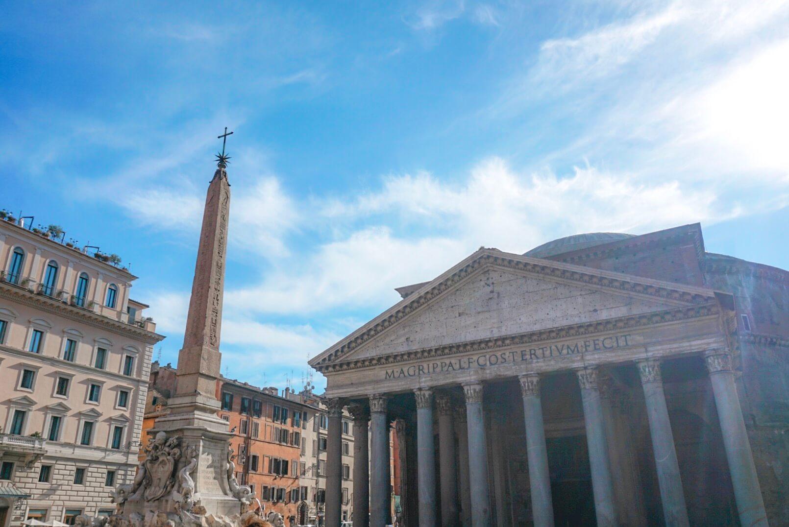 batiment à voir rome pantheon blog
