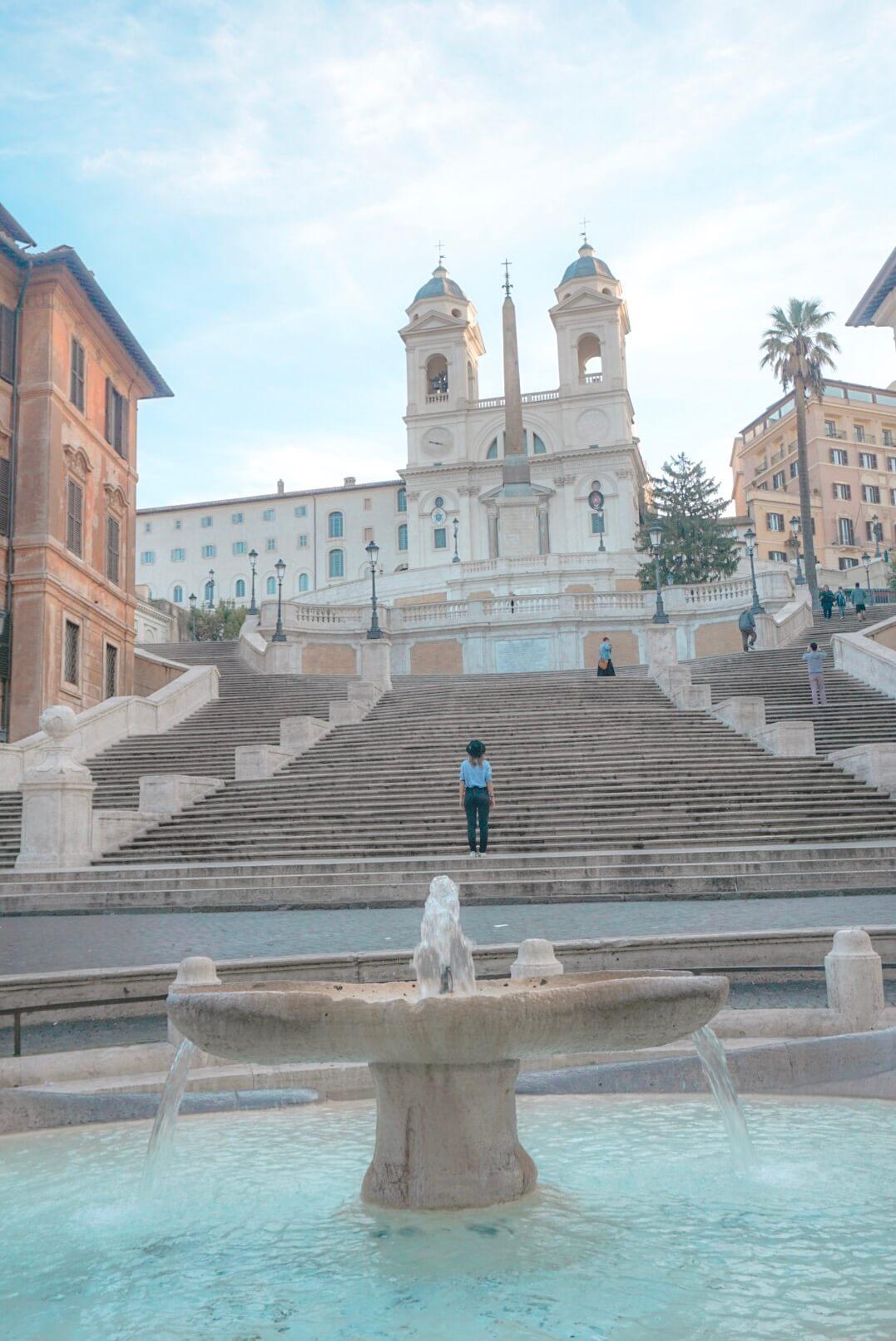 visiter la place d'espagne rome