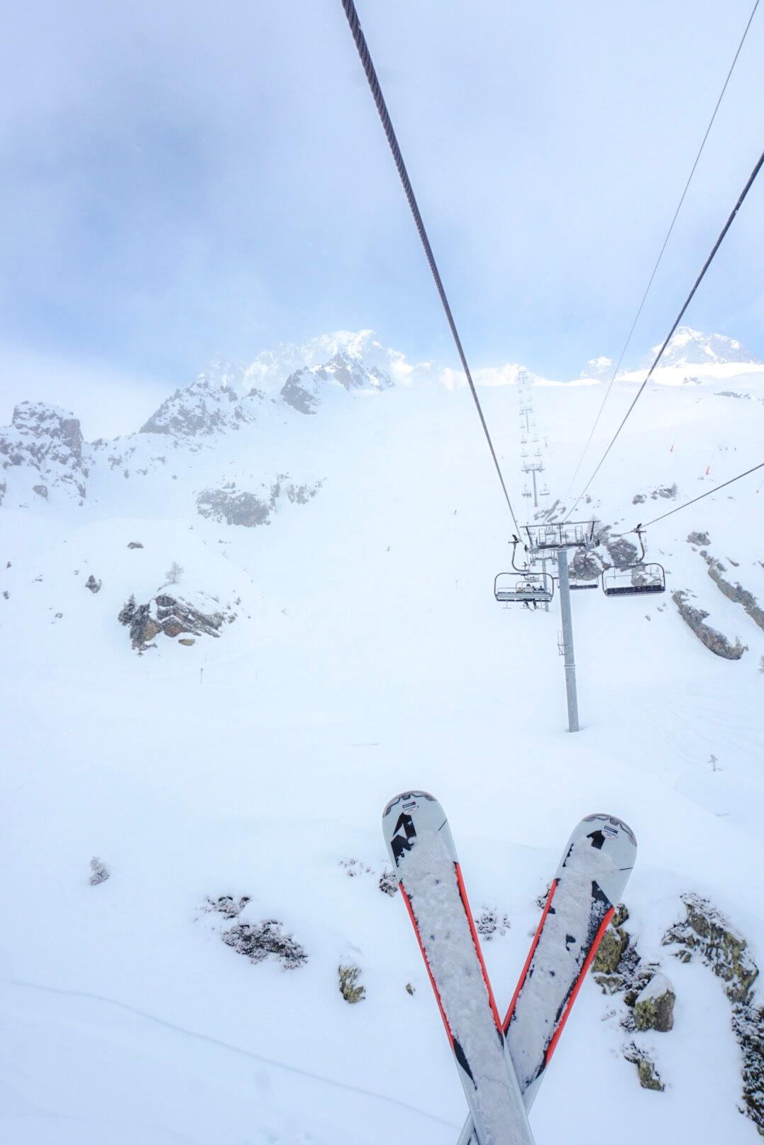 station de ski chamonix flegere