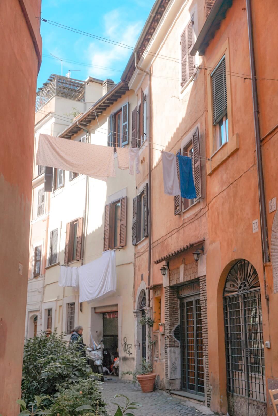 quartier trastevere rome vieille ville blog