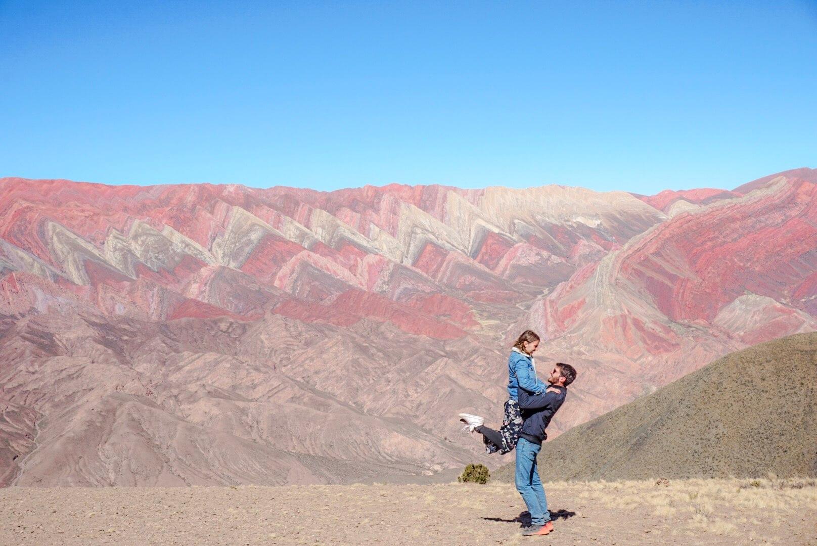 comment aller el hornocal montagne aux 14 couleurs argentine