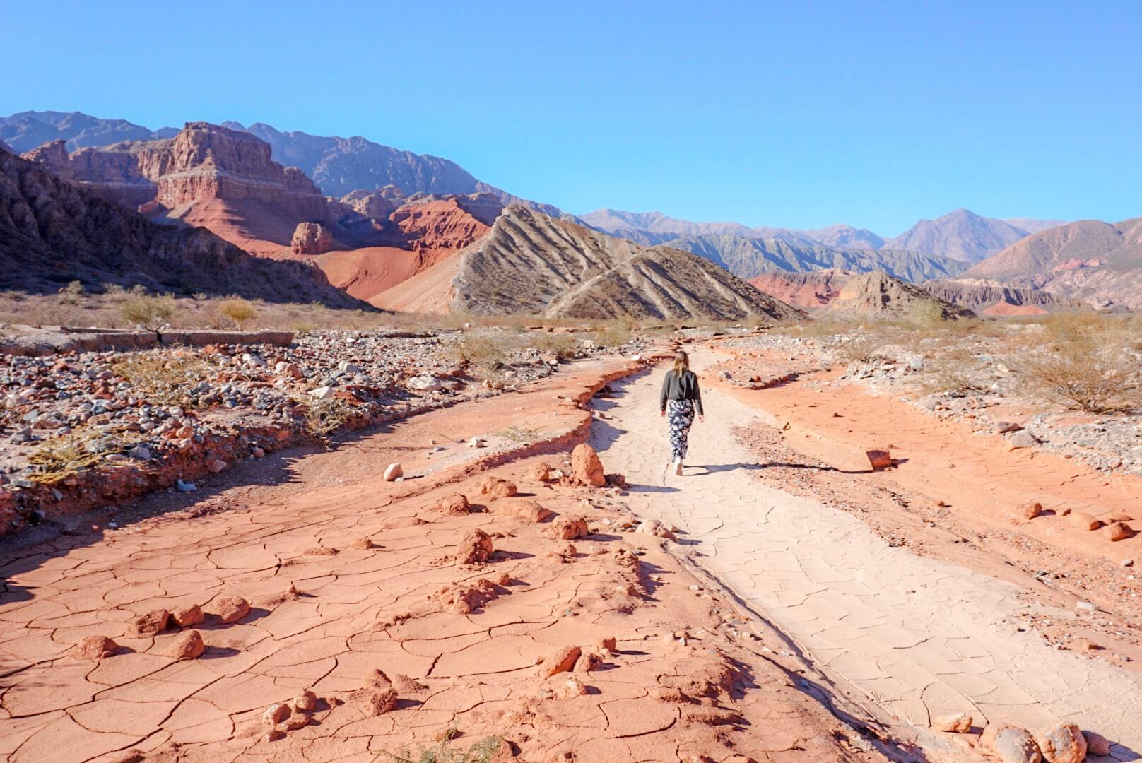 itinéraire vallée la yesra argentine salta road trip