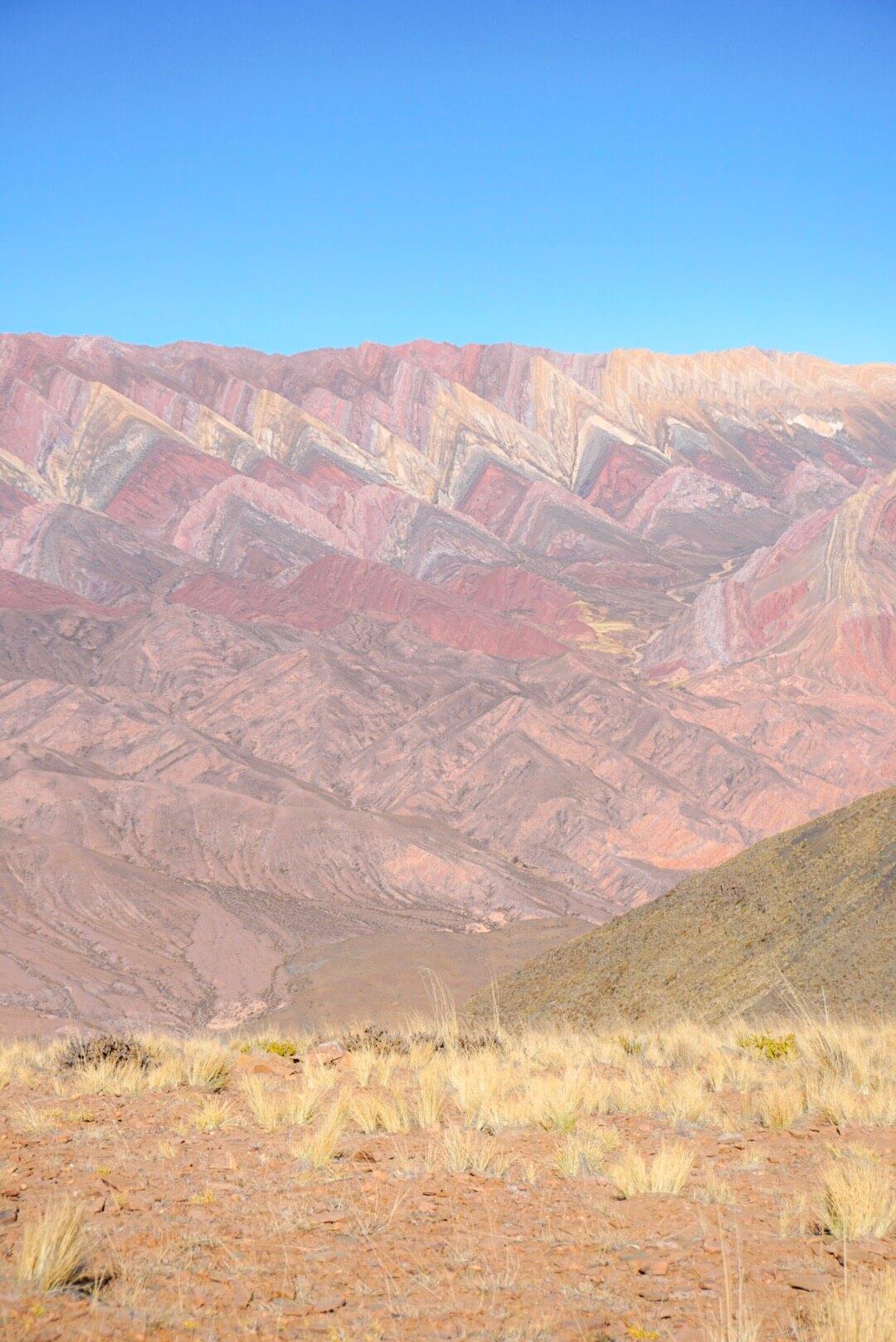 montagne aux 14 couleurs argentine el hornocal