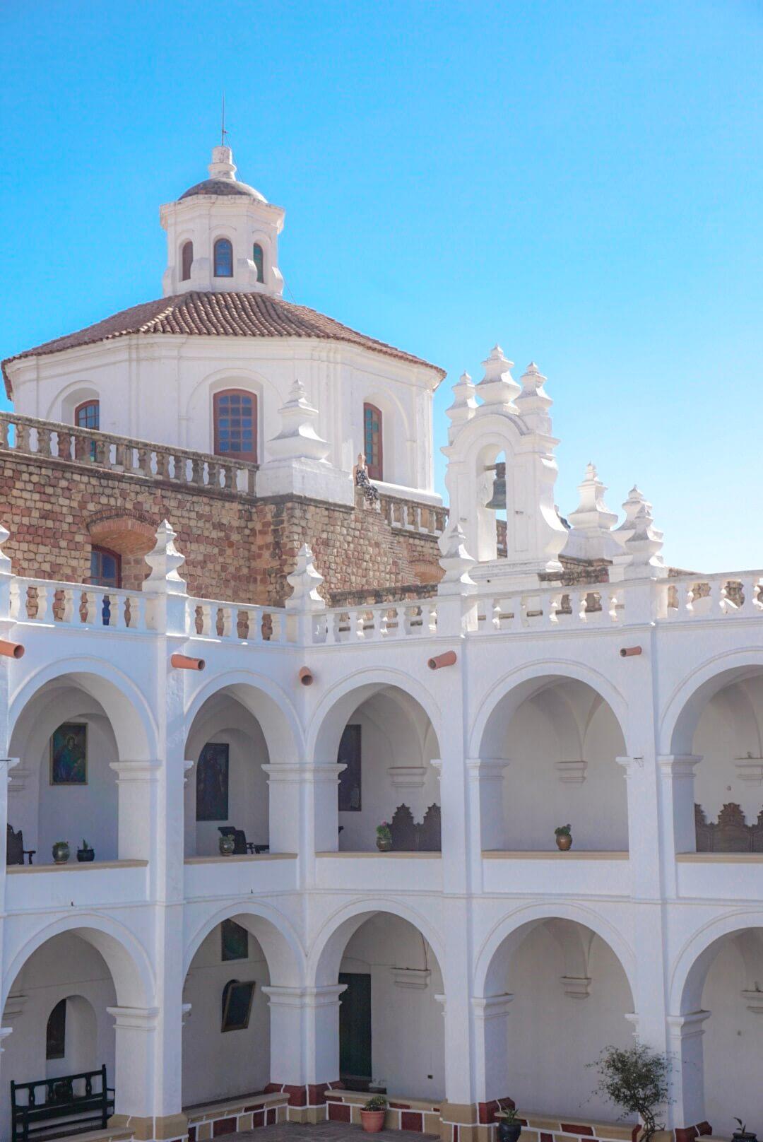 sucre bolivie visiter la iglesia san felipe de neri