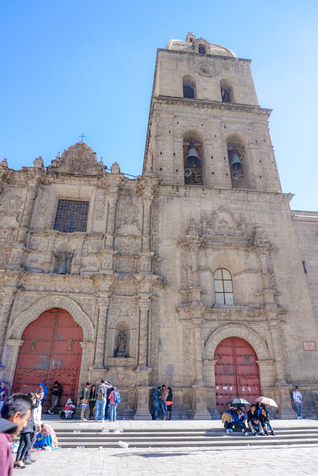 cathedrale la paz bolivie blog
